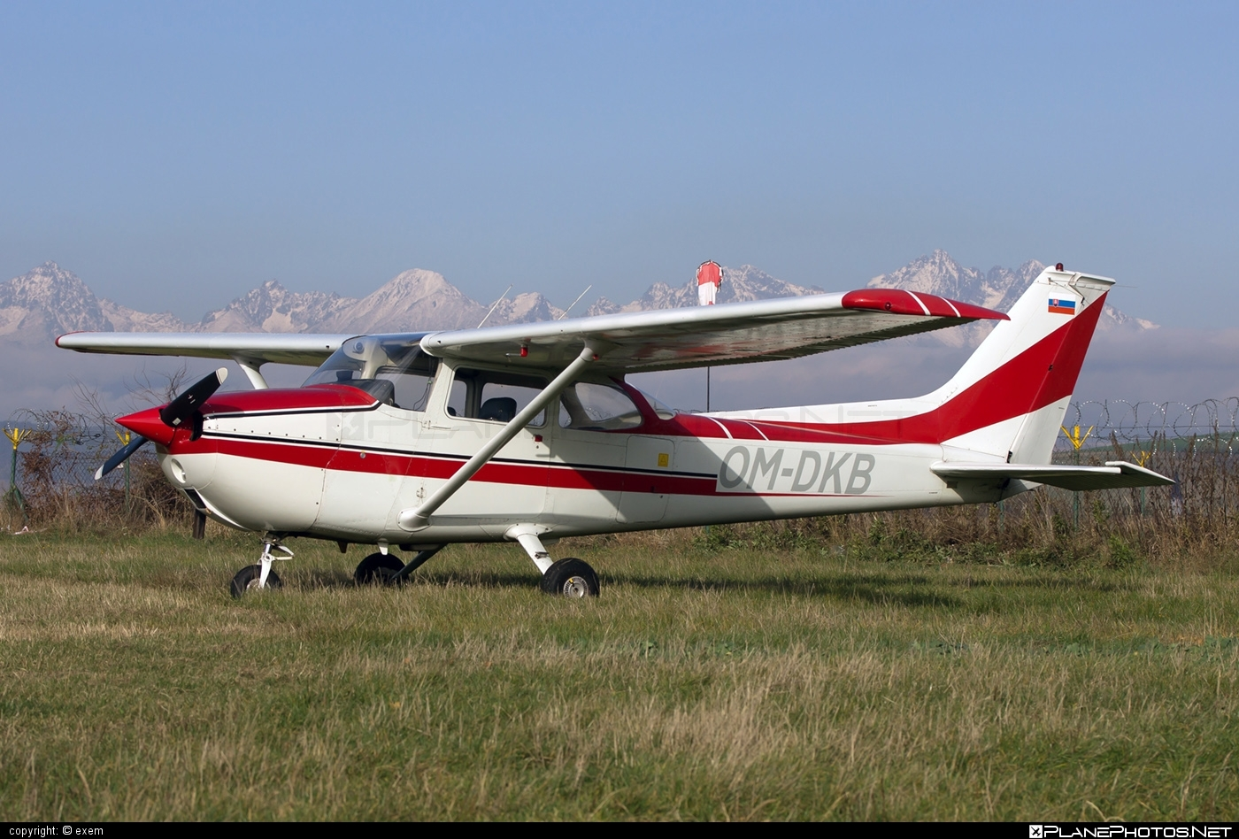 Reims F172M Skyhawk - OM-DKB operated by Private operator #cessna172 #cessnaskyhawk #f172m #reims #reims172 #reimsf172 #reimsskayhawk