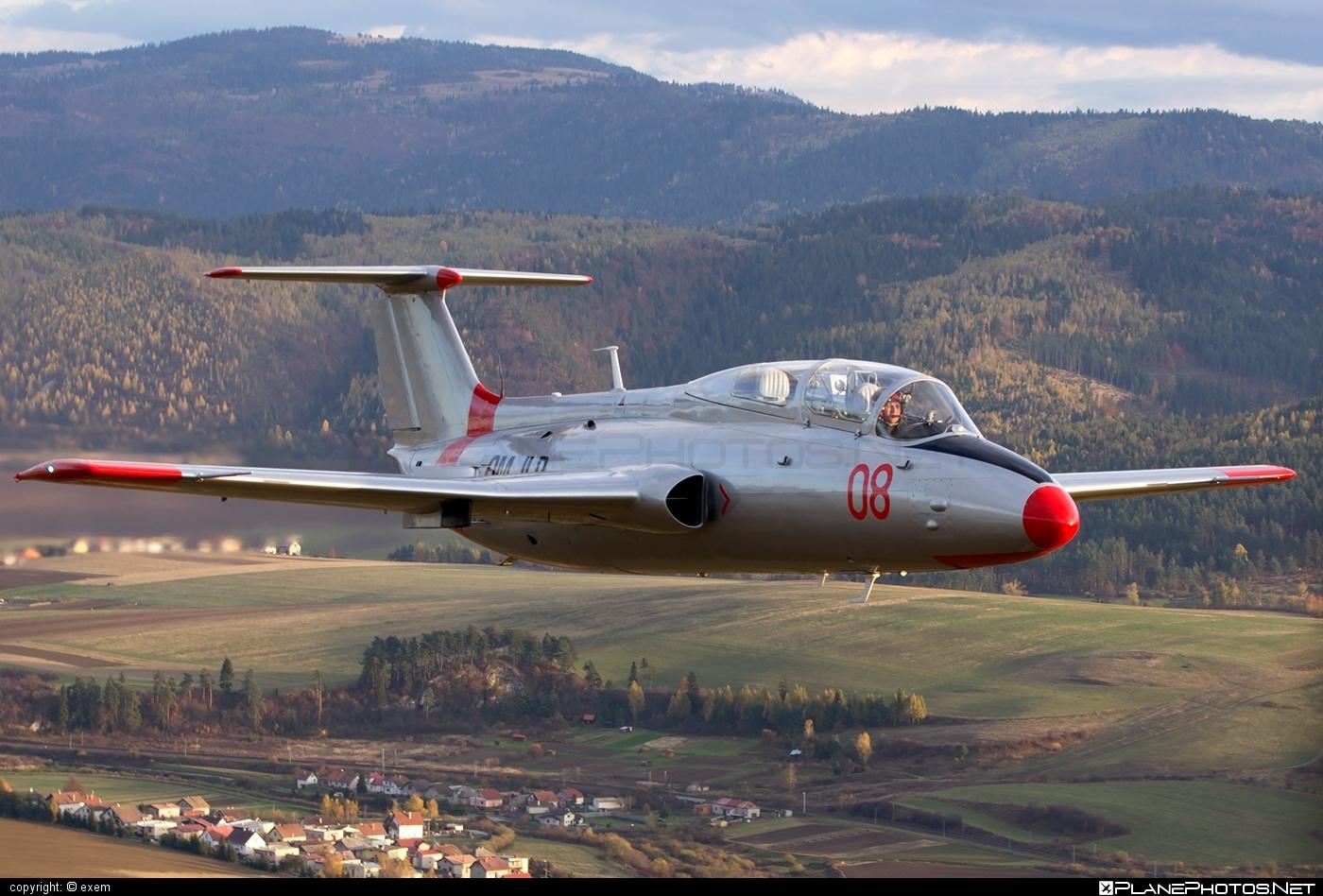 Aero L-29 Delfin - OM-JLP operated by Private operator #aero #aerol29 #aerol29delfin #delfin #l29