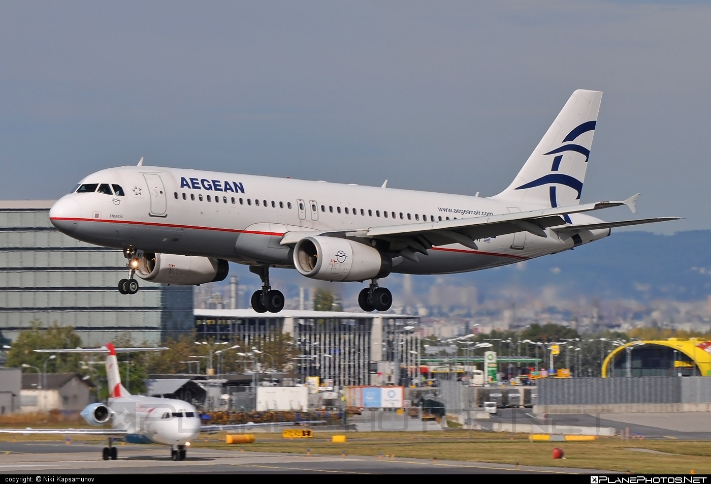 Airbus A320-232 - SX-DVI operated by Aegean Airlines #a320 #a320family #airbus #airbus320
