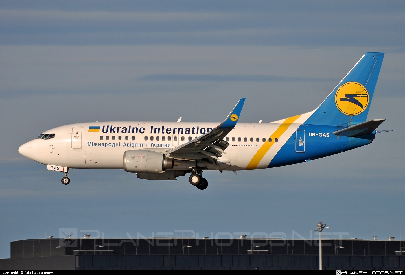 Boeing 737-500 - UR-GAS operated by Ukraine International Airlines #b737 #boeing #boeing737 #uia #ukraineinternationalairlines
