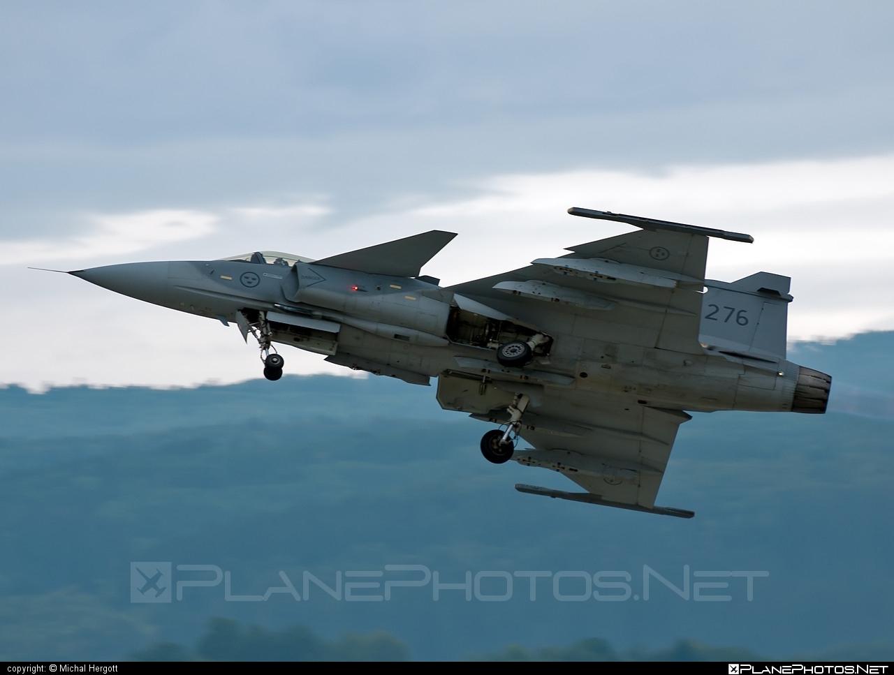 Saab JAS 39C Gripen - 39276 operated by Flygvapnet (Swedish Air Force) #flygvapnet #gripen #jas39 #jas39c #jas39gripen #saab #swedishairforce