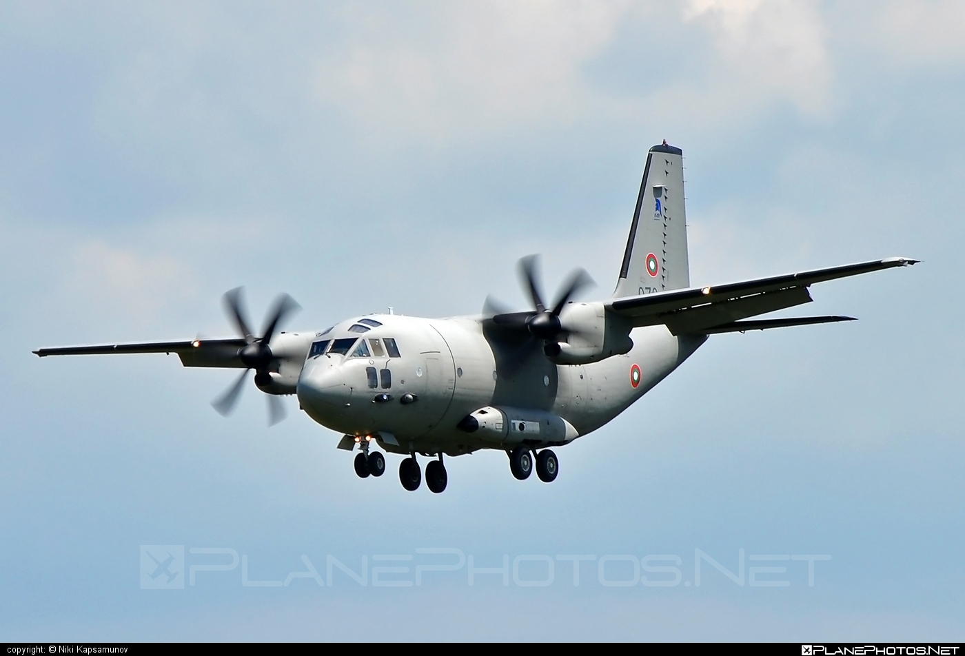 Alenia C-27J Spartan - 073 operated by Blgarski voyennovzdushni sili (Bulgarian Air Force) #alenia #aleniac27j #aleniac27jspartan #aleniaspartan #c27j #c27jspartan #c27spartan
