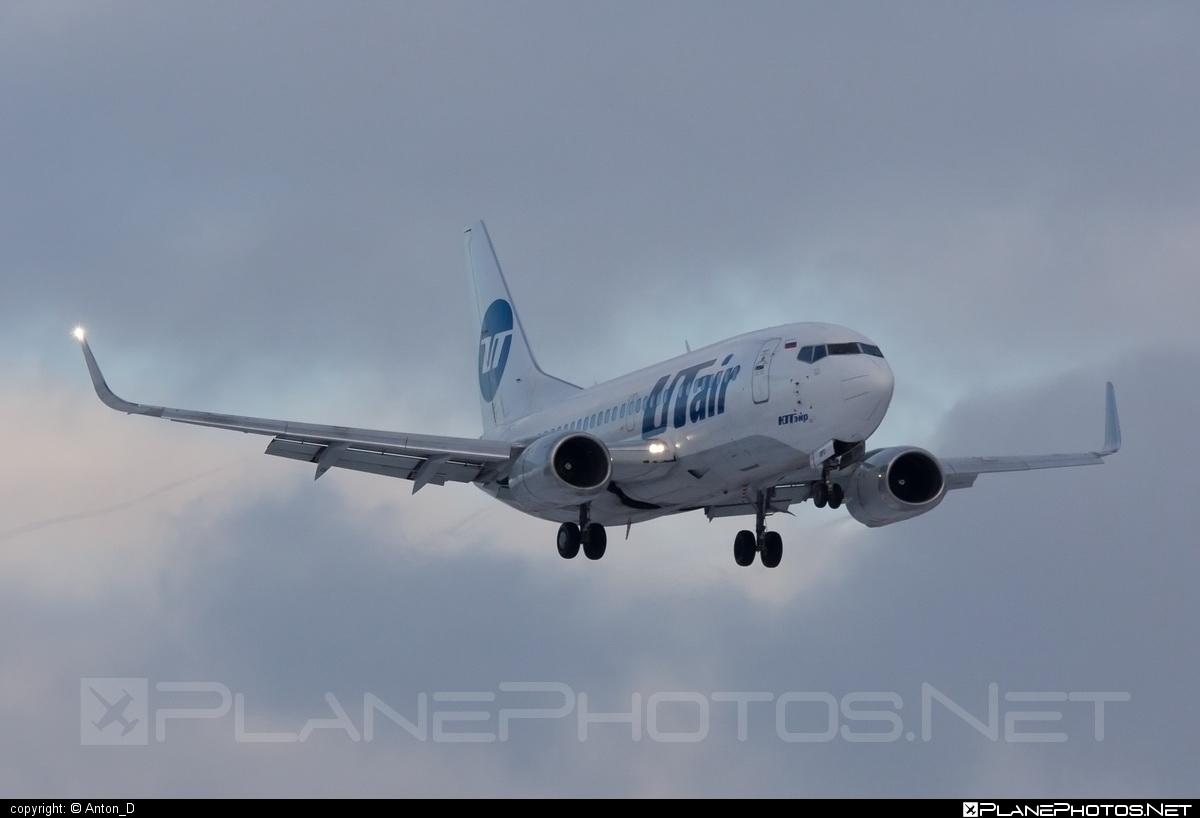 Boeing 737-500 - VQ-BPO operated by UTair Aviation #b737 #boeing #boeing737 #utair #utairaviation
