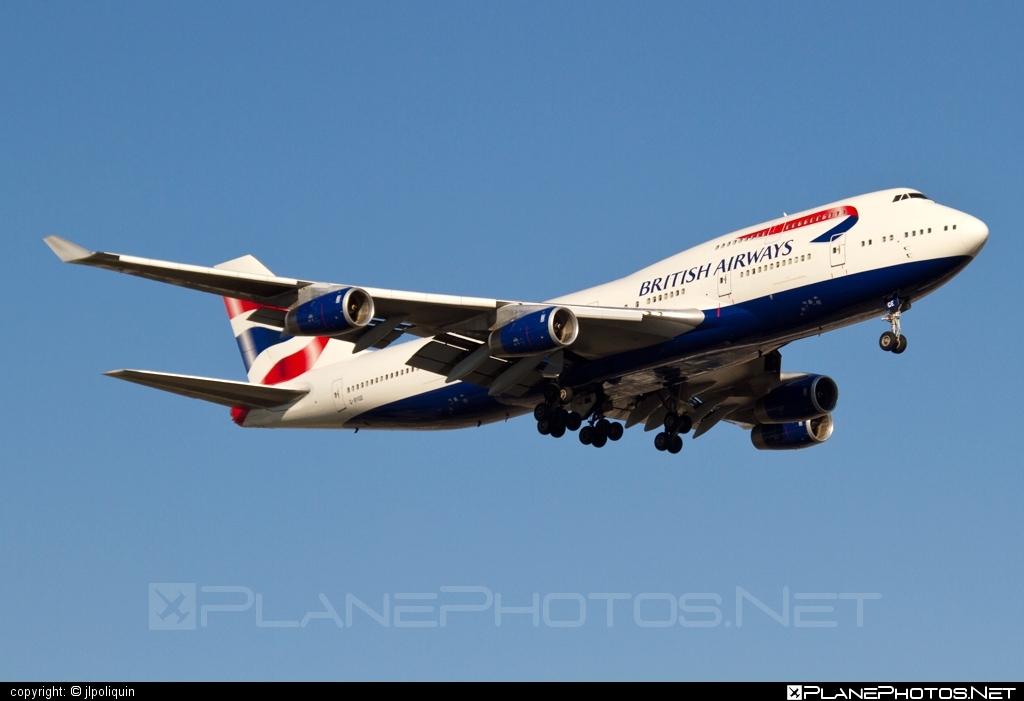 Boeing 747-400 - G-BYGE operated by British Airways #b747 #boeing #boeing747 #britishairways #jumbo