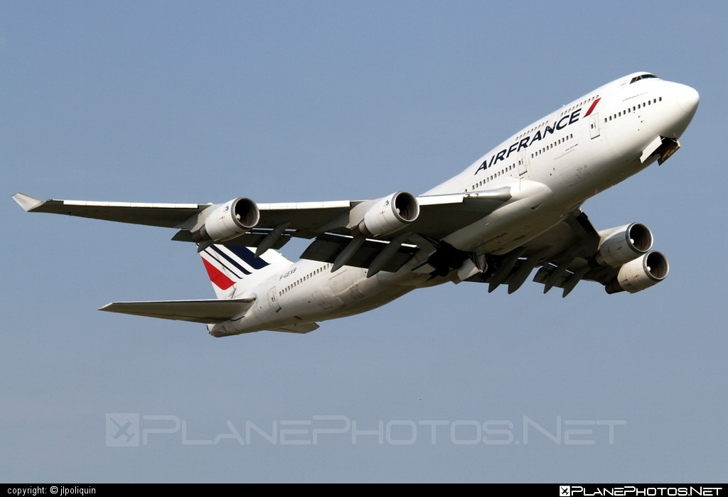 Boeing 747-400 - F-GEXB operated by Air France #airfrance #b747 #boeing #boeing747 #jumbo