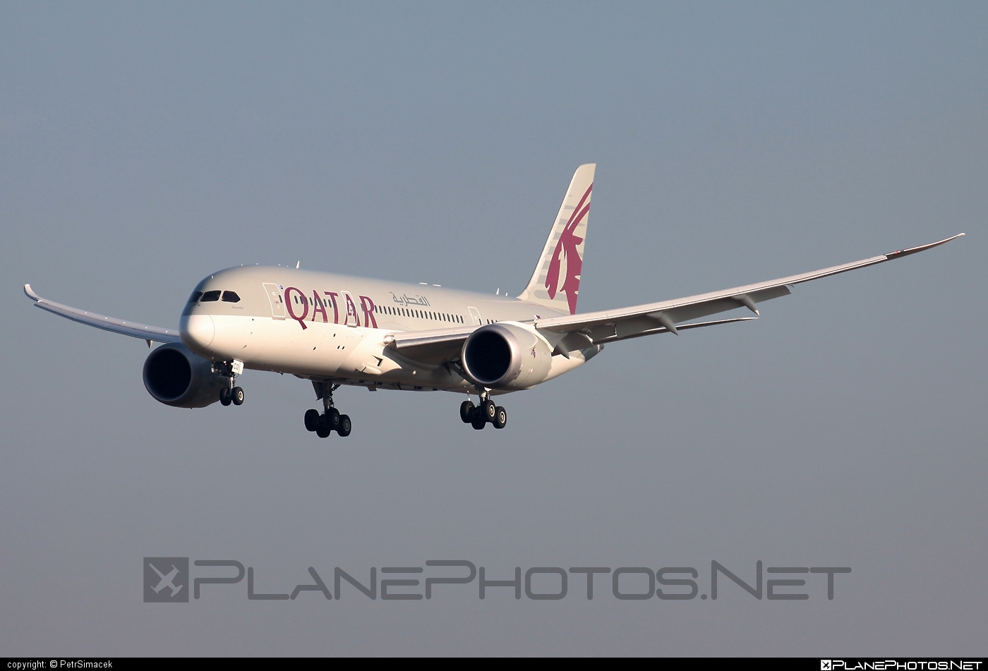 Boeing 787-8 Dreamliner - A7-BCD operated by Qatar Airways #b787 #boeing #boeing787 #dreamliner #qatarairways