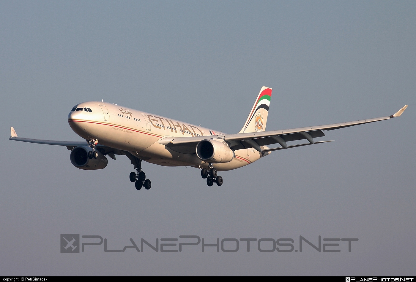 Airbus A330-343E - A6-AFC operated by Etihad Airways #a330 #a330e #a330family #airbus #airbus330 #etihad #etihadairways