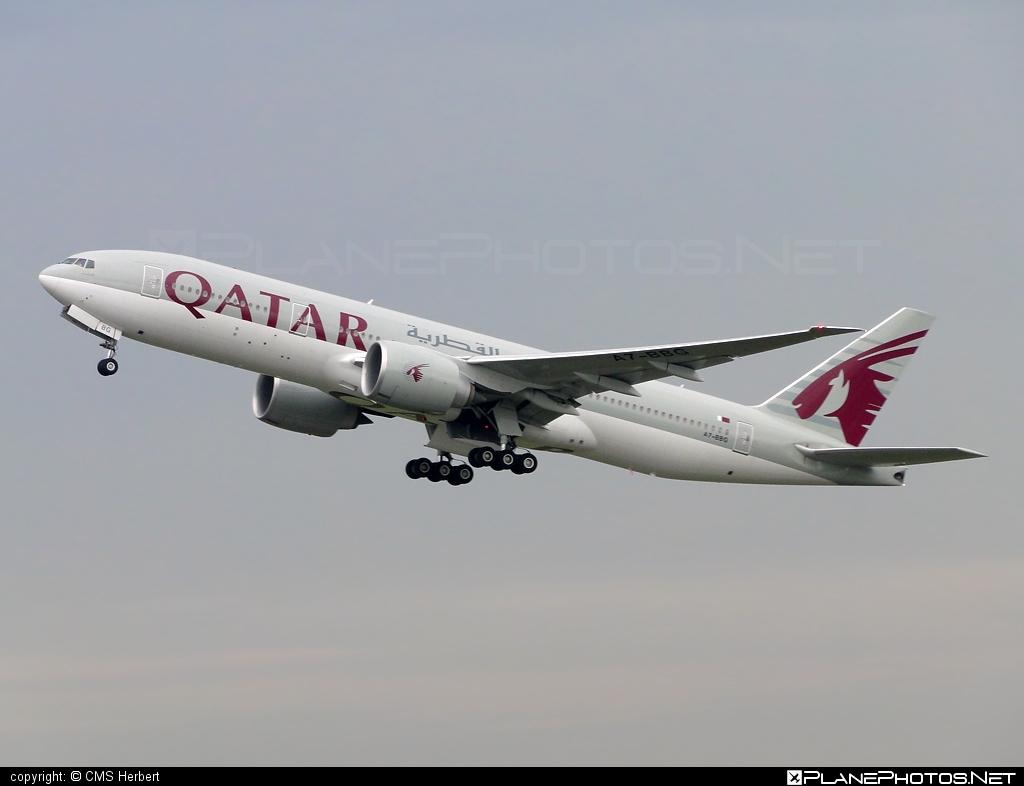 Boeing 777-200LR - A7-BBG operated by Qatar Airways #b777 #b777lr #boeing #boeing777 #qatarairways #tripleseven
