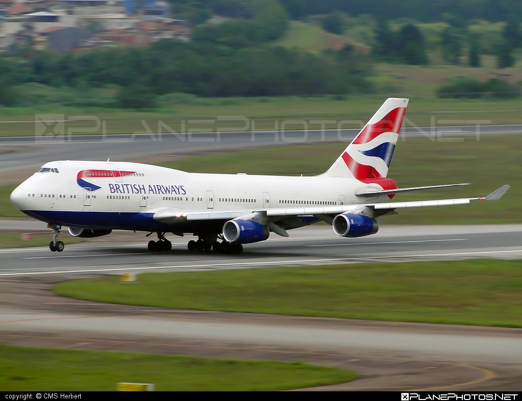 Boeing 747-400 - G-CIVO operated by British Airways #b747 #boeing #boeing747 #britishairways #jumbo