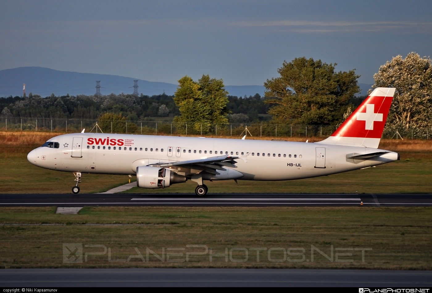 Airbus A320-214 - HB-IJL operated by Swiss International Air Lines #a320 #a320family #airbus #airbus320 #swiss #swissairlines