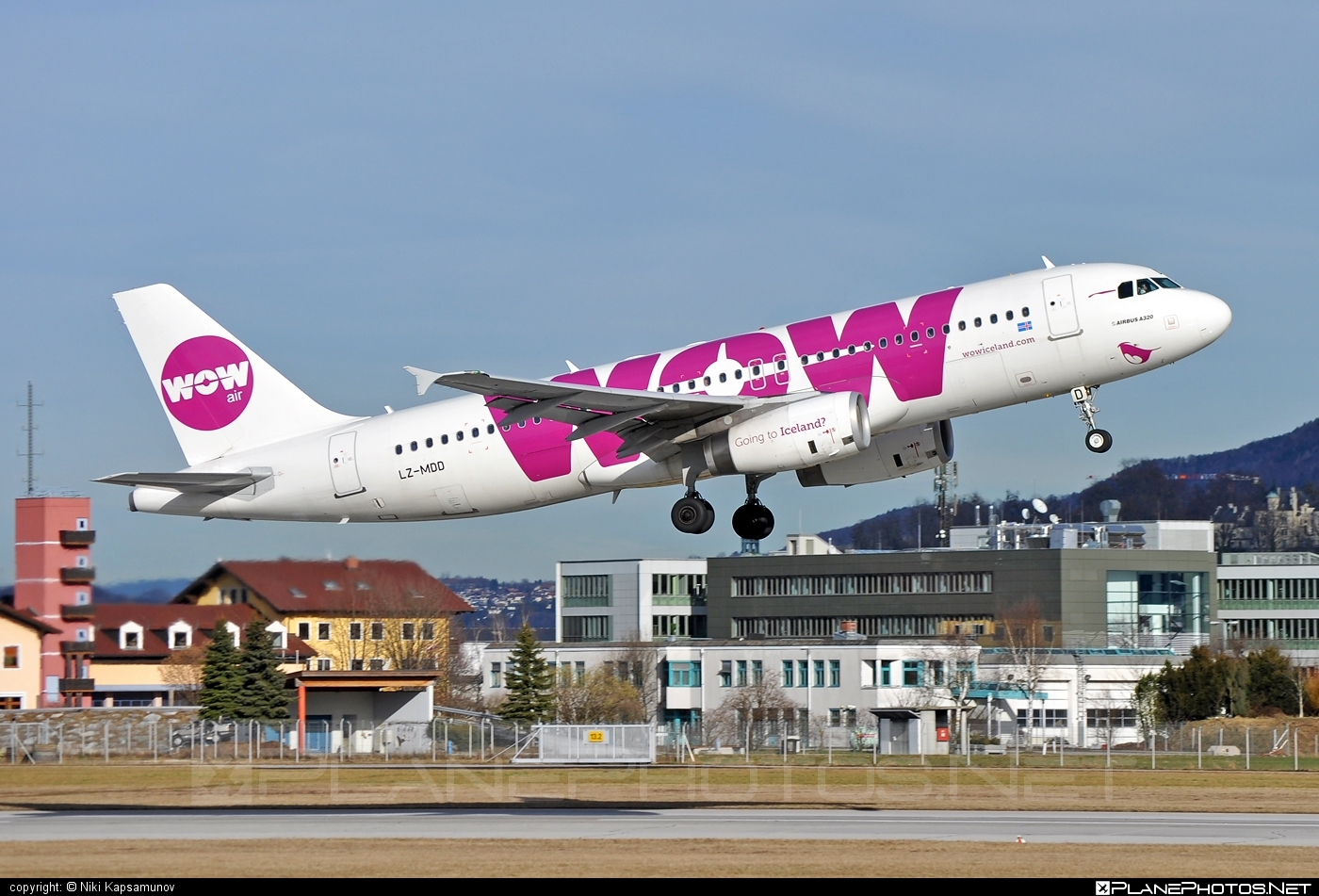 Airbus A320-232 - LZ-MDD operated by WOW air #a320 #a320family #airbus #airbus320