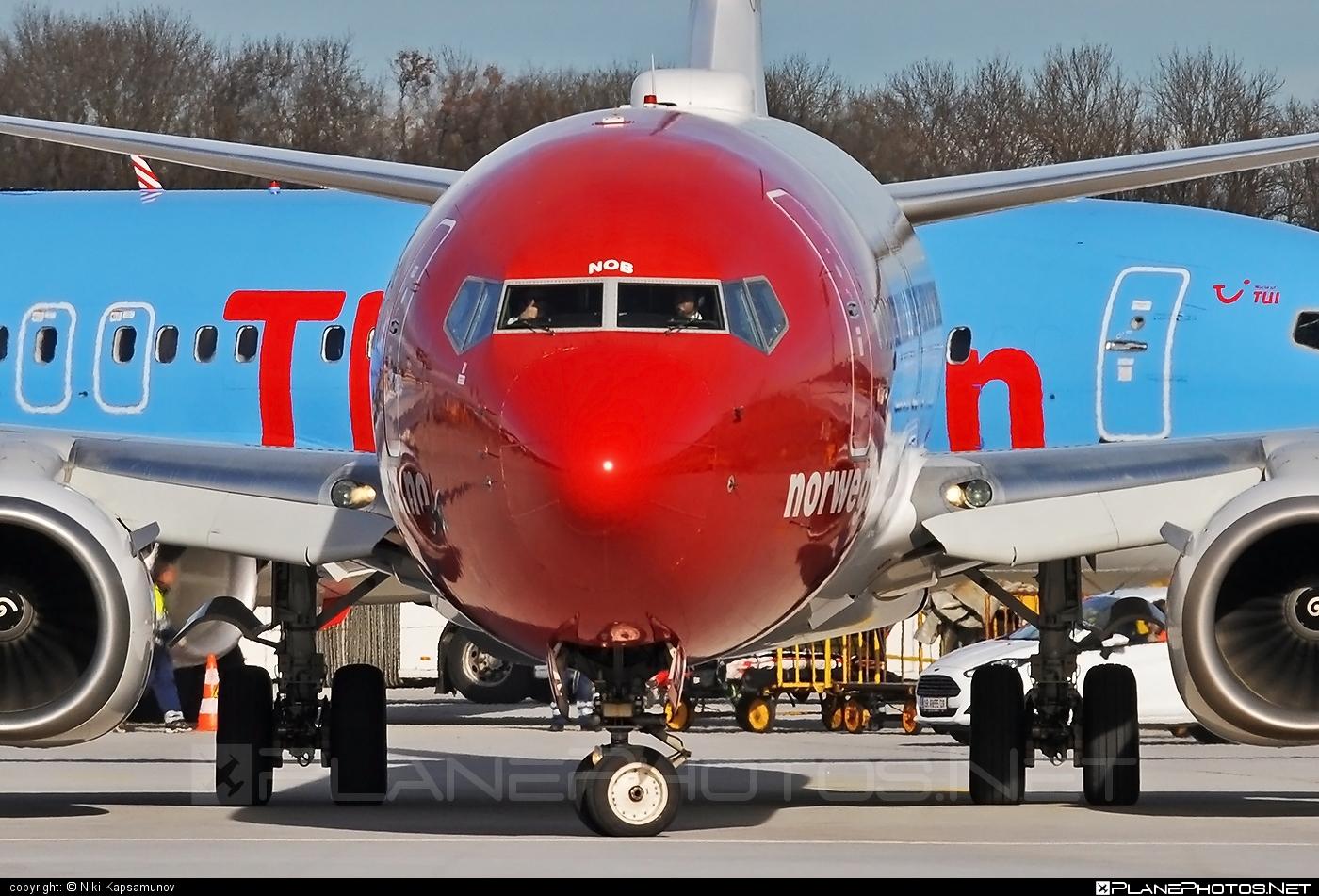 Boeing 737-800 - LN-NOB operated by Norwegian Air Shuttle #b737 #b737nextgen #b737ng #boeing #boeing737 #norwegian #norwegianair #norwegianairshuttle