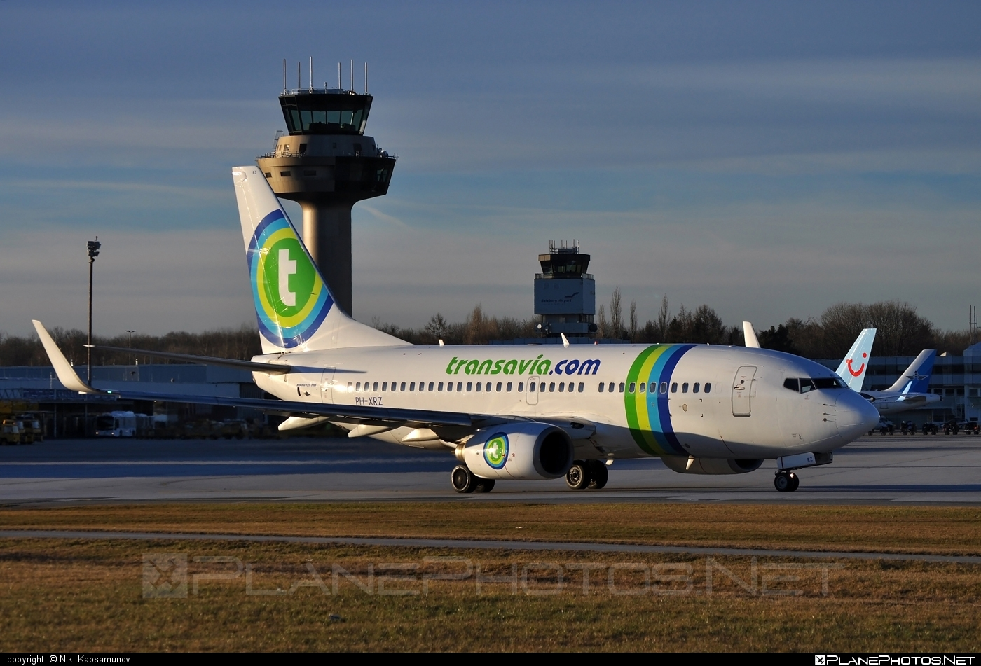 Boeing 737-700 - PH-XRZ operated by Transavia Airlines #b737 #b737nextgen #b737ng #boeing #boeing737 #transavia #transaviaairlines