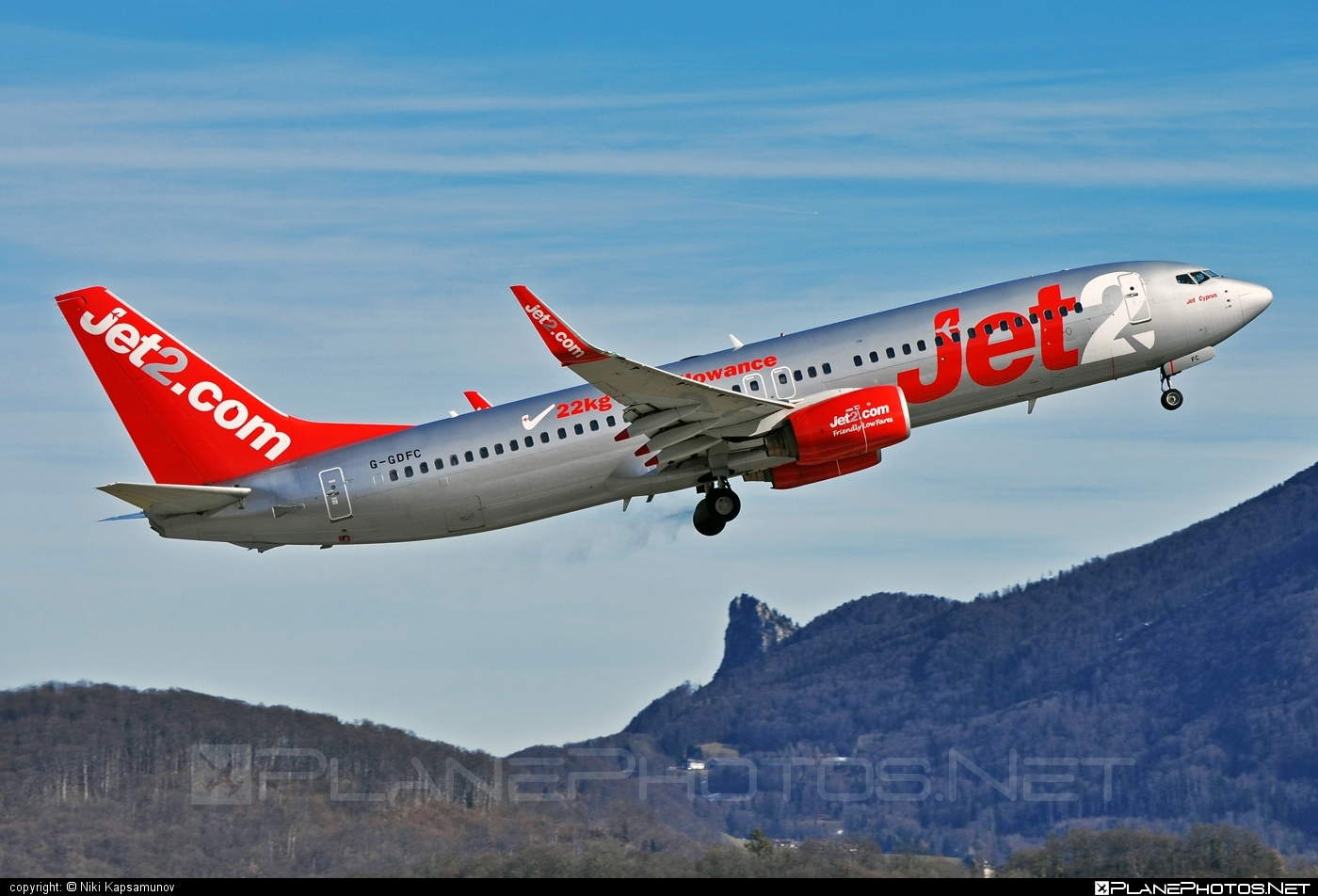 Boeing 737-800 - G-GDFC operated by Jet2 #b737 #b737nextgen #b737ng #boeing #boeing737 #jet2