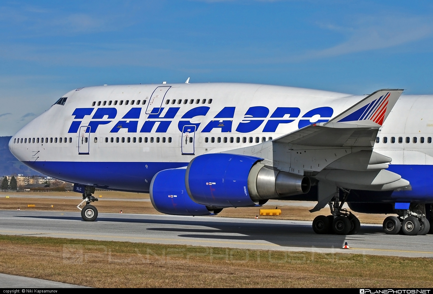 Boeing 747-400 - EI-XLC operated by Transaero Airlines #b747 #boeing #boeing747 #jumbo