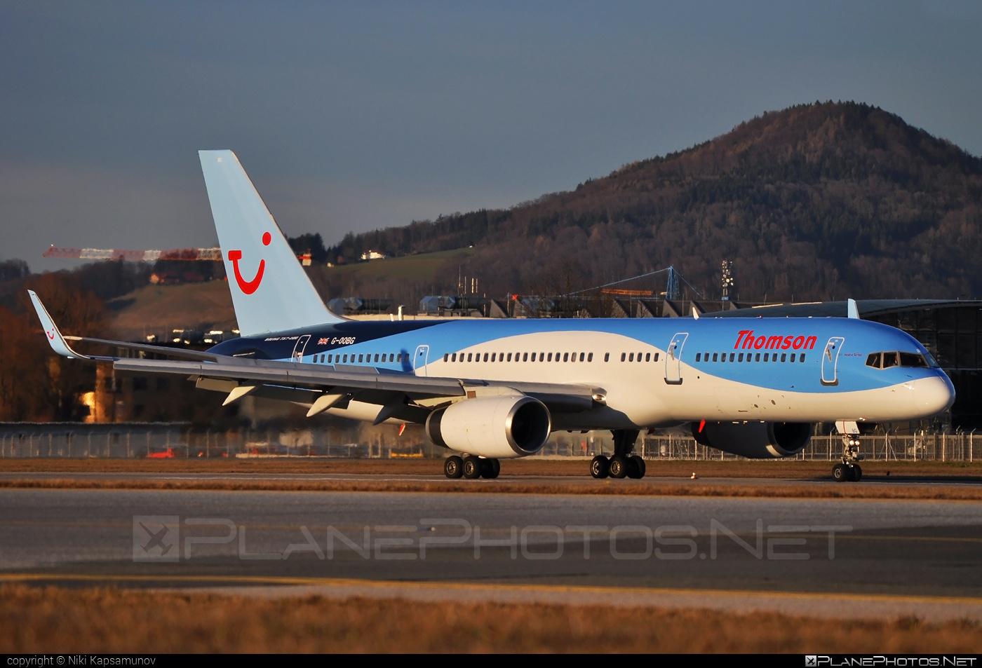 Boeing 757-200 - G-OOBG operated by Thomson Airways #b757 #boeing #boeing757