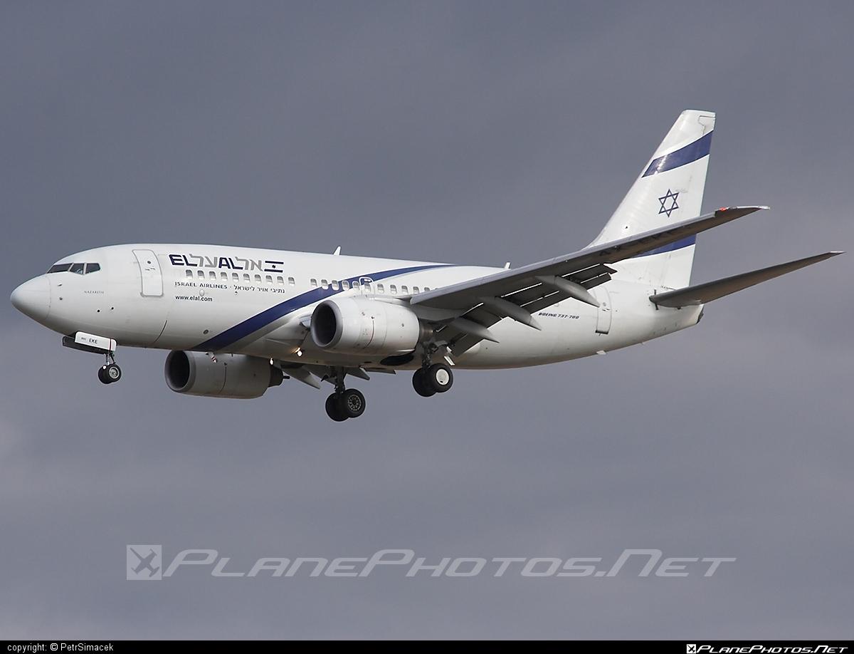 Boeing 737-700 - 4X-EKE operated by El Al Israel Airlines #b737 #b737nextgen #b737ng #boeing #boeing737 #elal #elalisraelairlines #israelairlines
