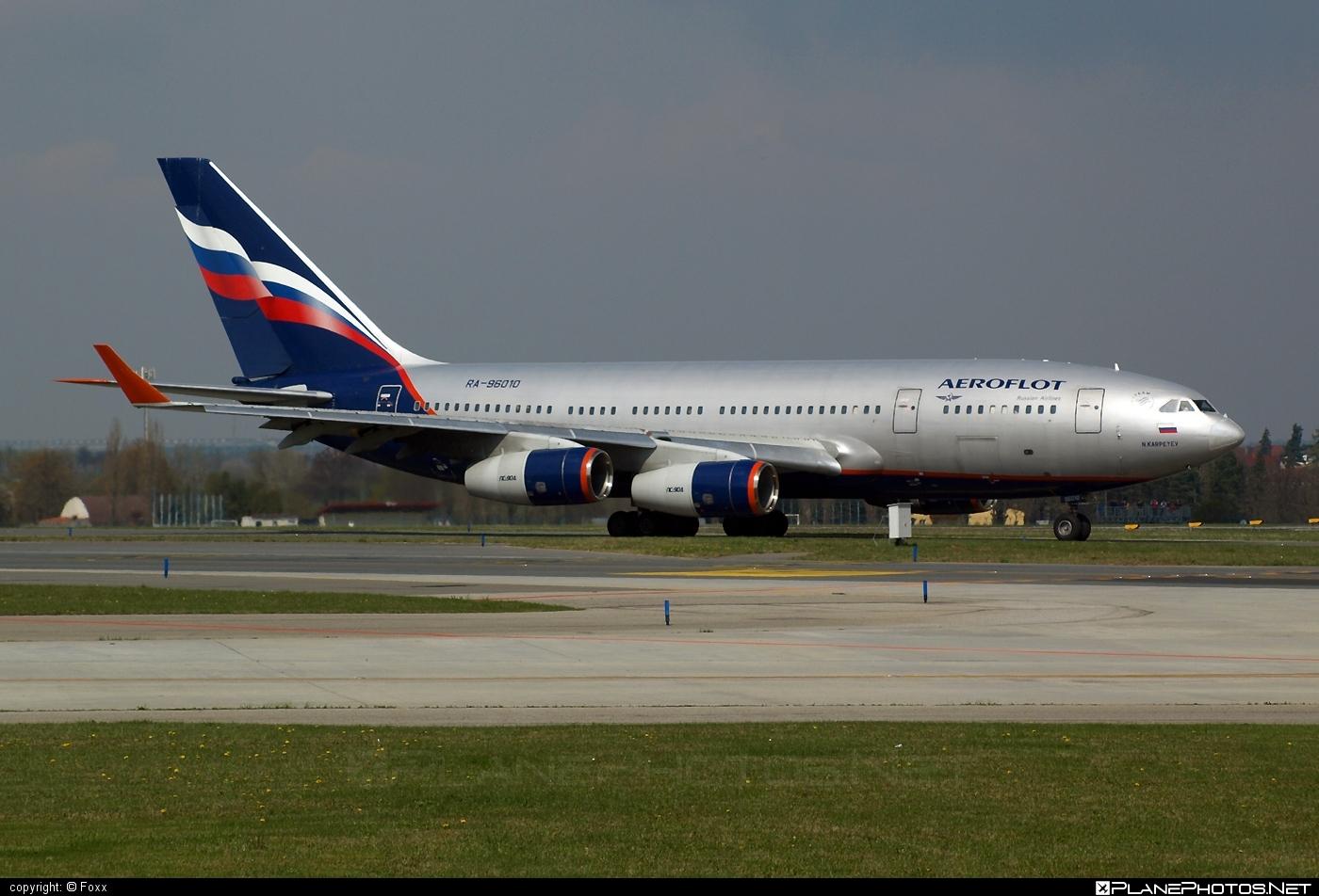 Ilyushin Il-96-300 - RA-96010 operated by Aeroflot #aeroflot #il96 #il96300 #ilyushin
