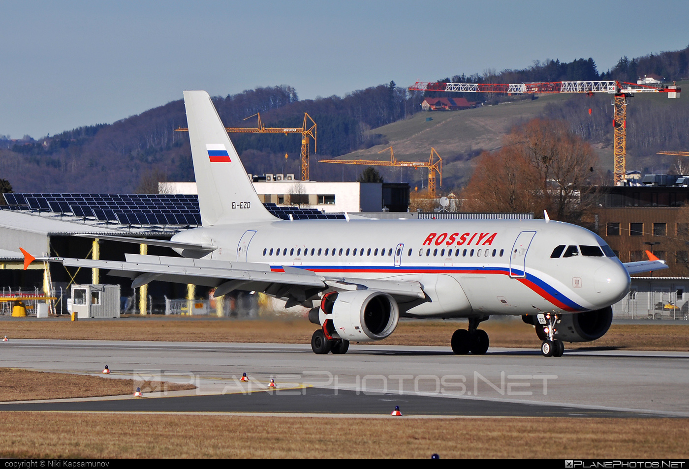 Airbus A319-112 - EI-EZD operated by Rossiya Airlines #a319 #a320family #airbus #airbus319