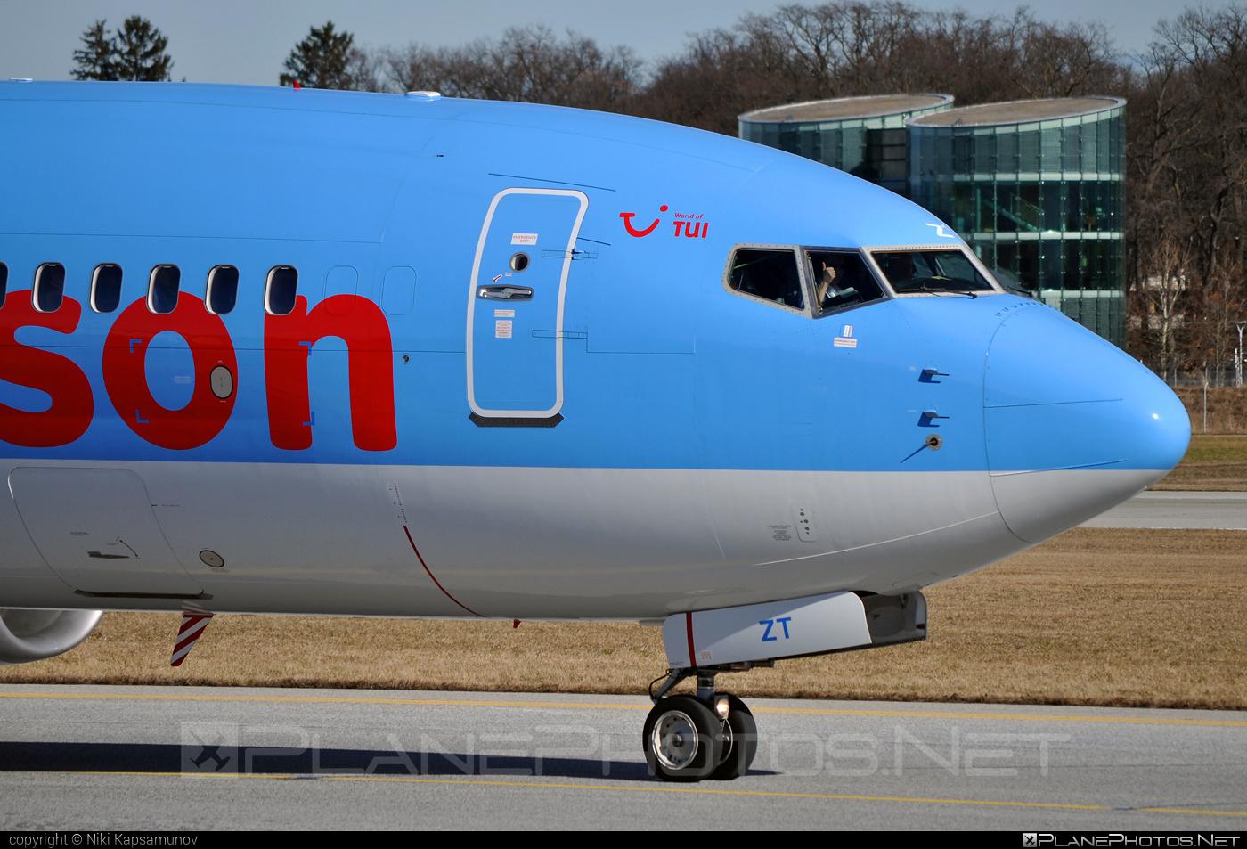 Boeing 737-800 - G-FDZT operated by Thomson Airways #b737 #b737nextgen #b737ng #boeing #boeing737