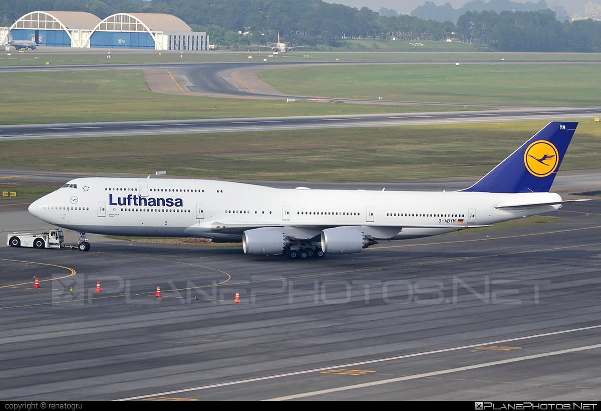 Boeing 747-8 - D-ABYM operated by Lufthansa #b747 #boeing #boeing747 #jumbo #lufthansa