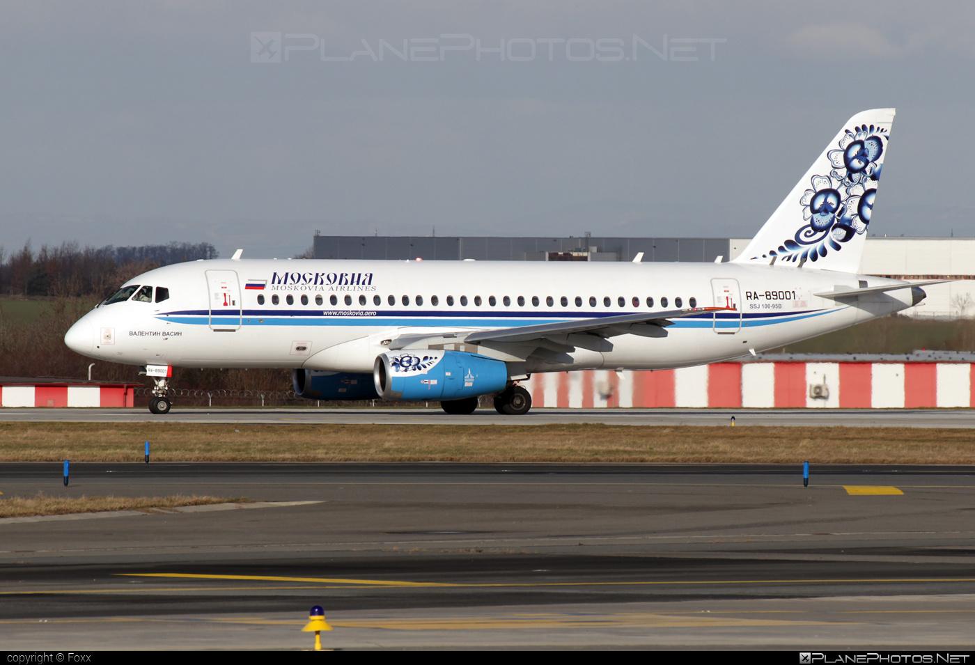 Sukhoi SSJ 100-95B Superjet - RA-89001 operated by Moskovia Airlines #ssj100 #ssj10095b #sukhoi #sukhoisuperjet #superjet