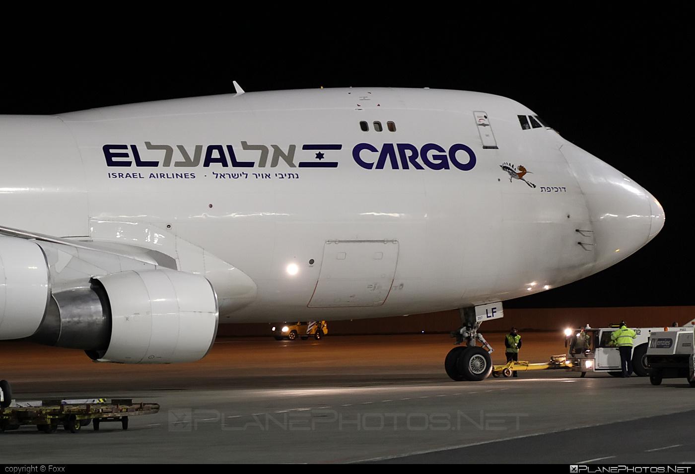 Boeing 747-400F - 4X-ELF operated by El Al Cargo #b747 #boeing #boeing747 #jumbo