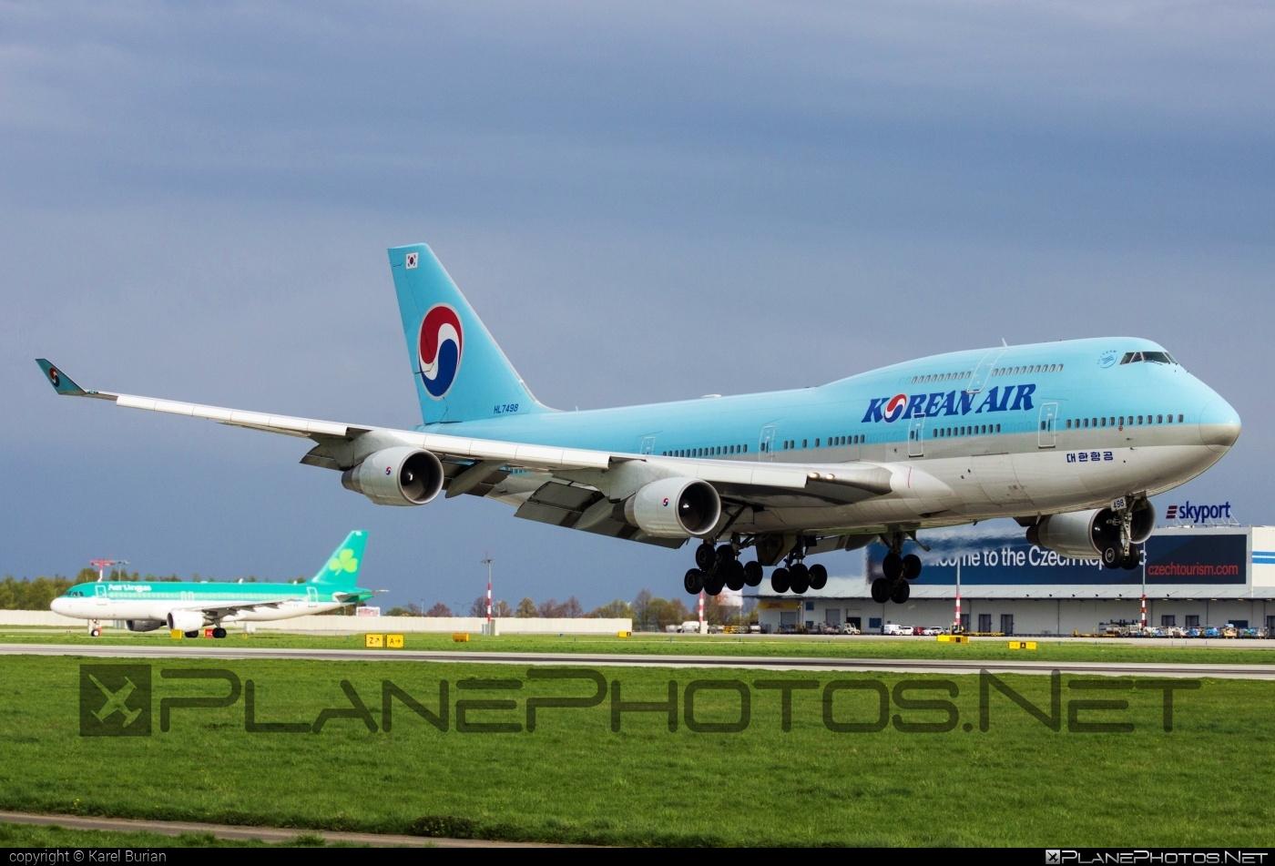 Boeing 747-400 - HL7498 operated by Korean Air #b747 #boeing #boeing747 #jumbo #koreanair