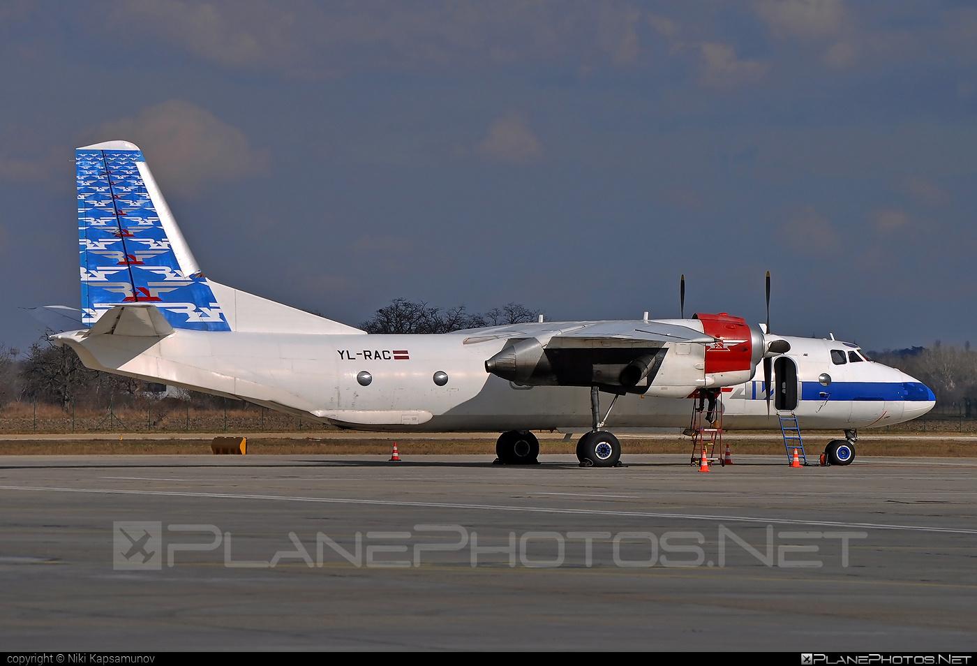 Antonov An-26 - YL-RAC operated by Raf-Avia Airlines #an26 #antonov #antonov26