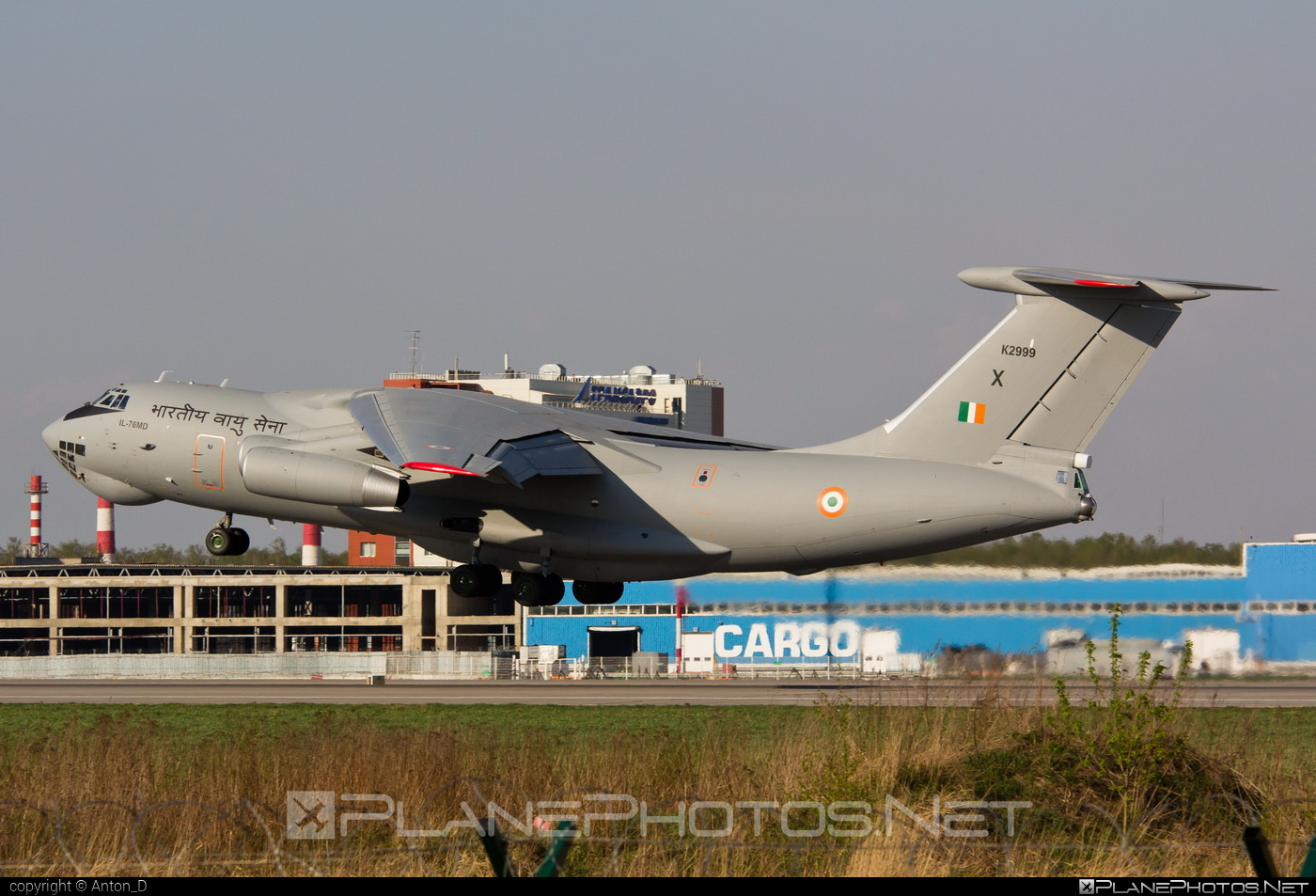 Ilyushin Il-76MD - K2999 operated by Bharatiya Vāyu Senā (Indian Air Force) #il76 #il76md #ilyushin
