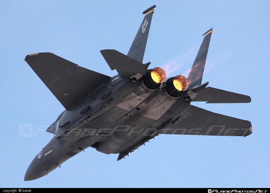 McDonnell Douglas F-15E Strike Eagle - 89-0495 operated by US Air Force (USAF) #mcdonnelldouglas #usaf #usairforce
