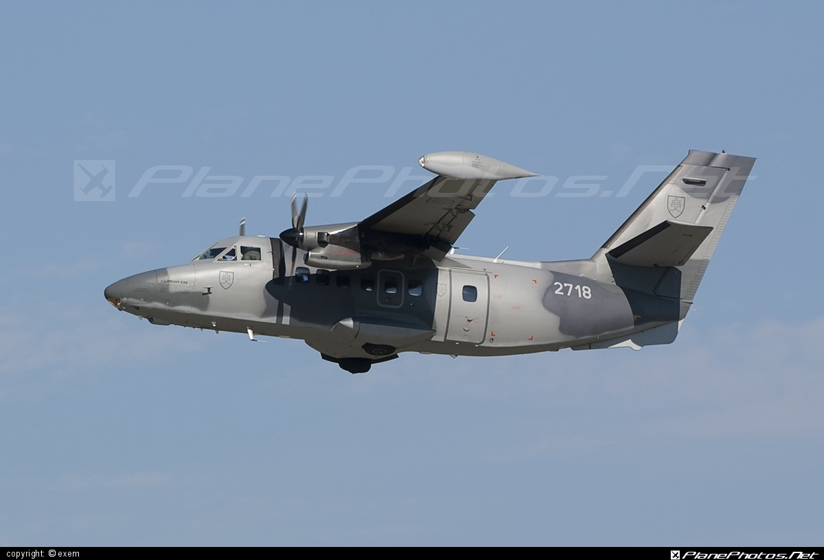 Let L-410UVP-E20 Turbolet - 2718 operated by Vzdušné sily OS SR (Slovak Air Force) #let #slovakairforce #vzdusnesilyossr