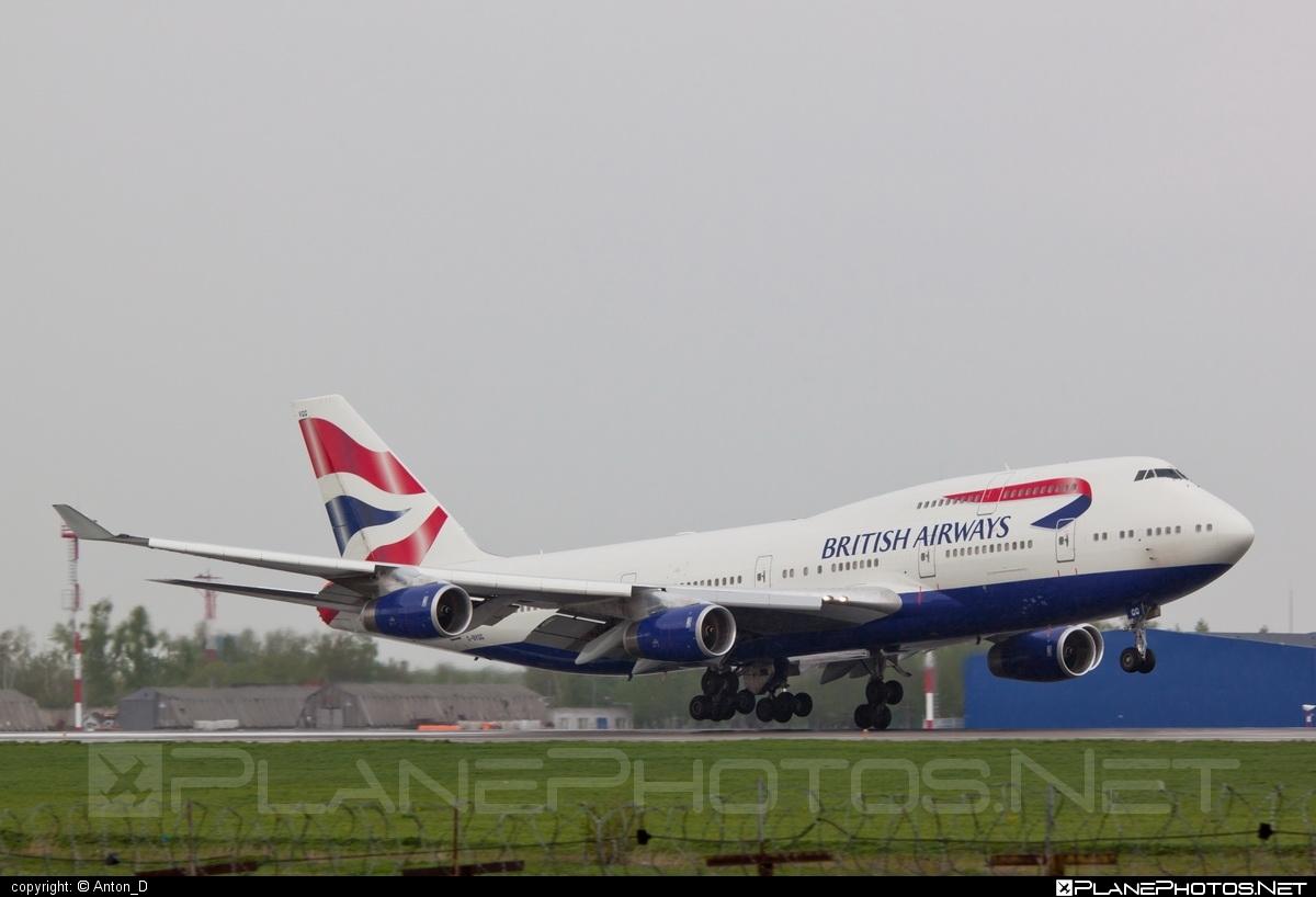 Boeing 747-400 - G-BYGG operated by British Airways #b747 #boeing #boeing747 #britishairways #jumbo