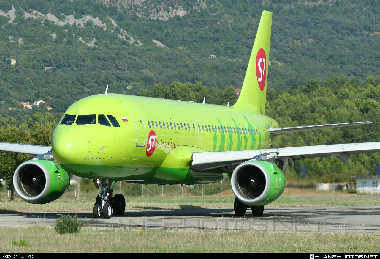 Airbus A319-114 - VP-BTS operated by S7 Airlines #a319 #a320family #airbus #airbus319