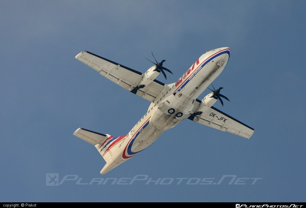ATR 42-500 - OK-JFK operated by CSA Czech Airlines #atr #atr42 #atr42500 #csa #czechairlines