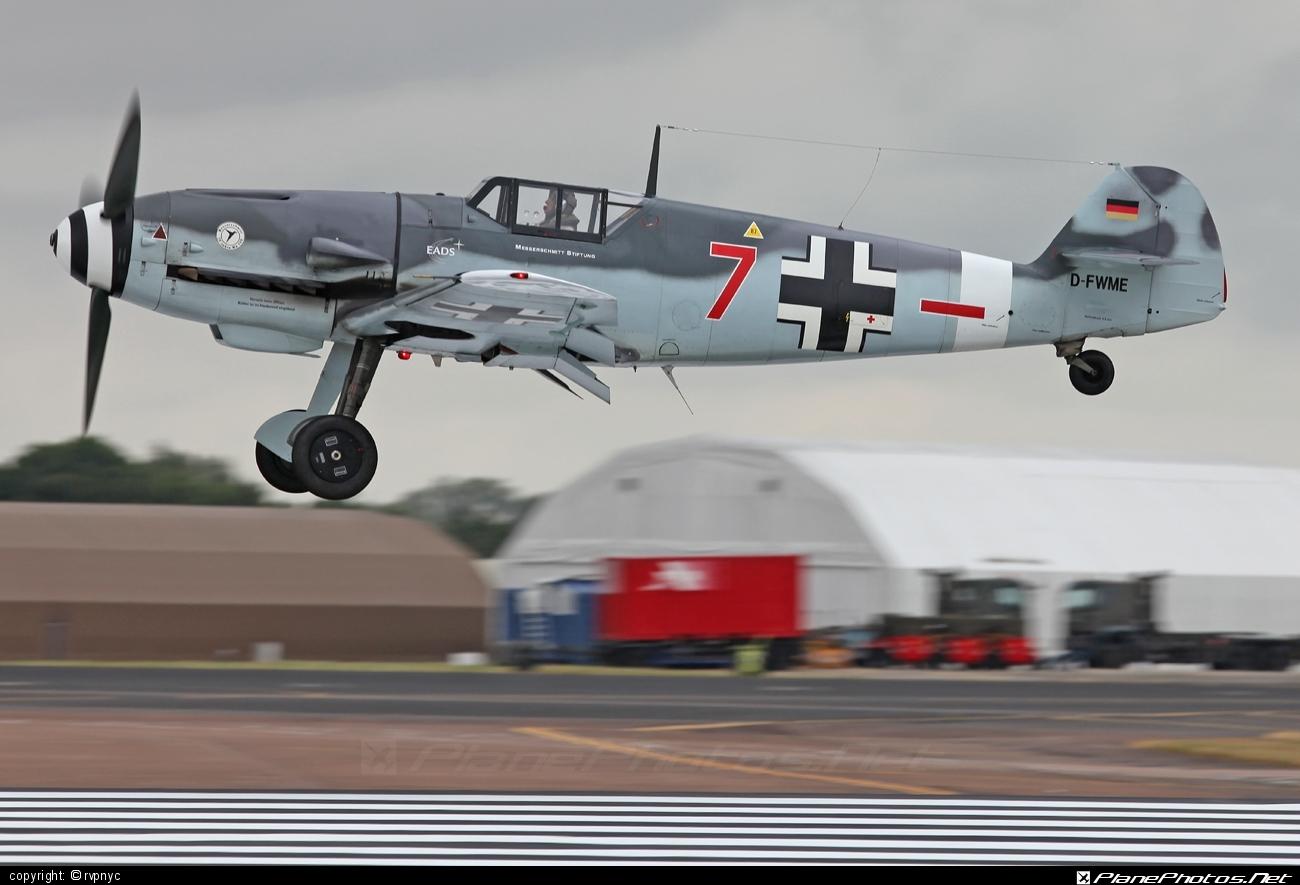 Messerschmitt Bf 109G-4 - D-FWME operated by Private operator #messerschmitt