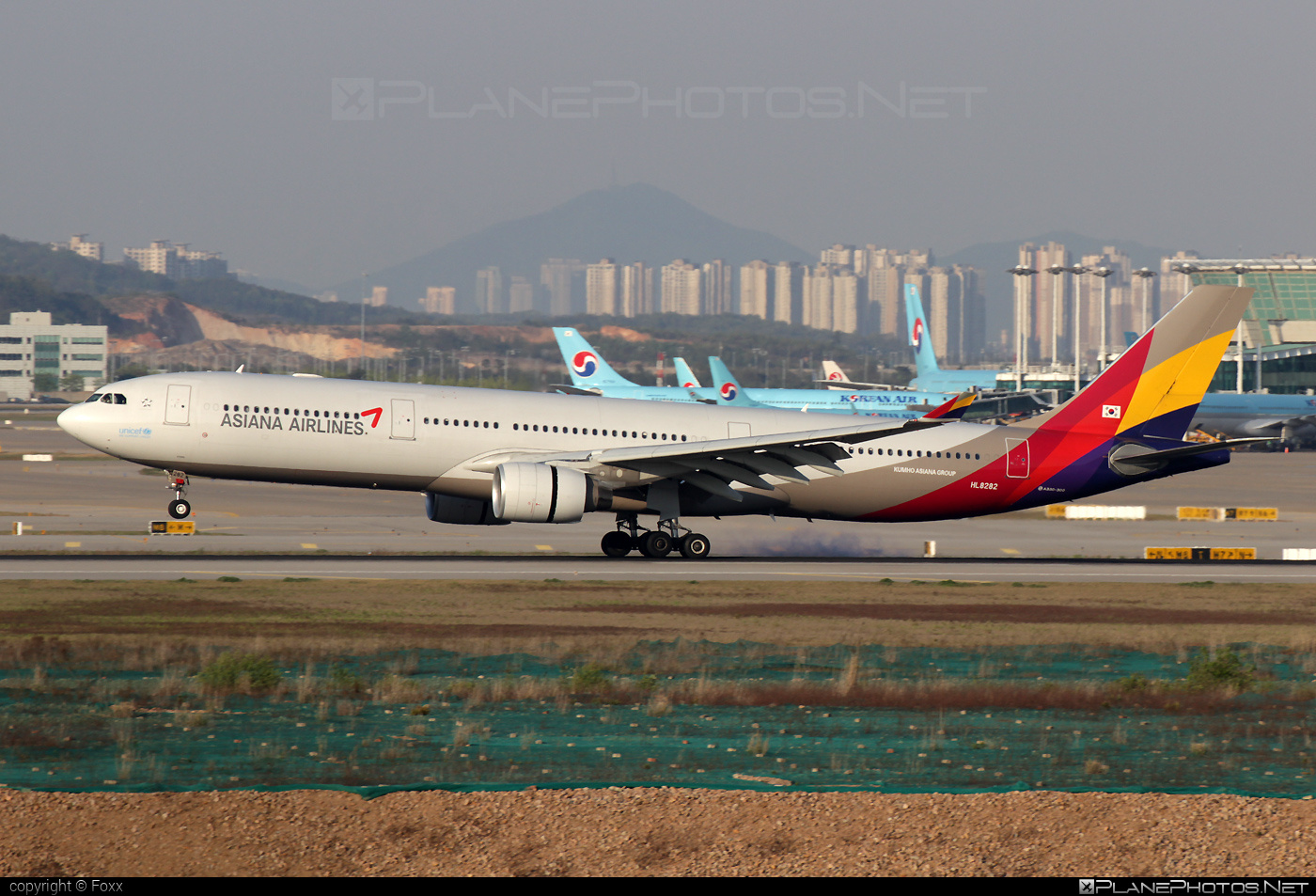 Airbus A330-323X - HL8282 operated by Asiana Airlines #a330 #a330family #airbus #airbus330 #asiana #asianaairlines