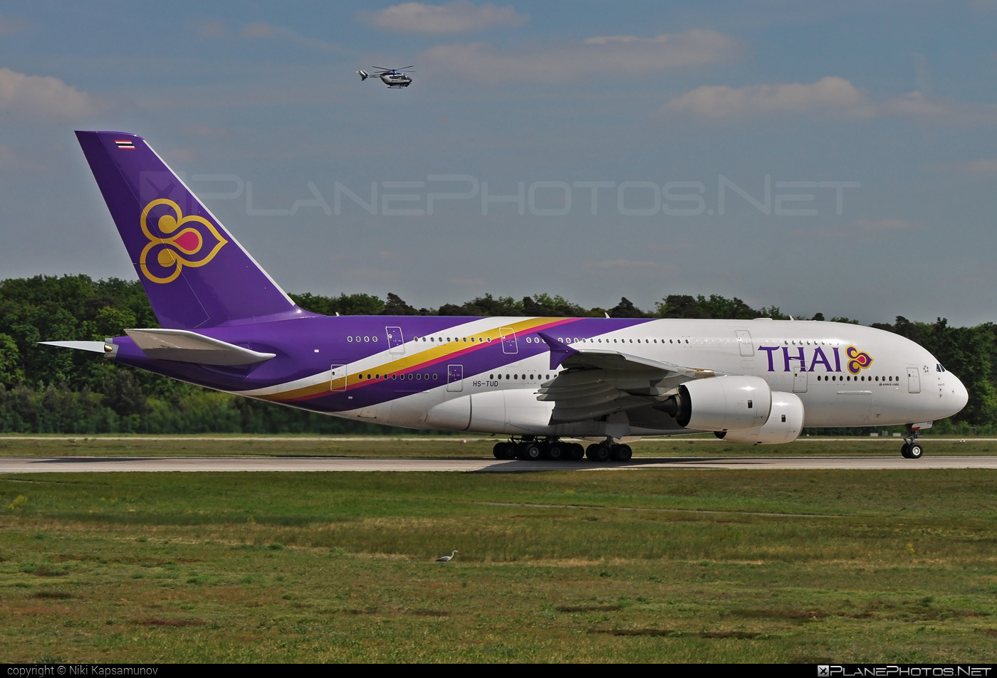 Airbus A380-841 - HS-TUD operated by Thai Airways #a380 #a380family #airbus #airbus380 #thaiairways