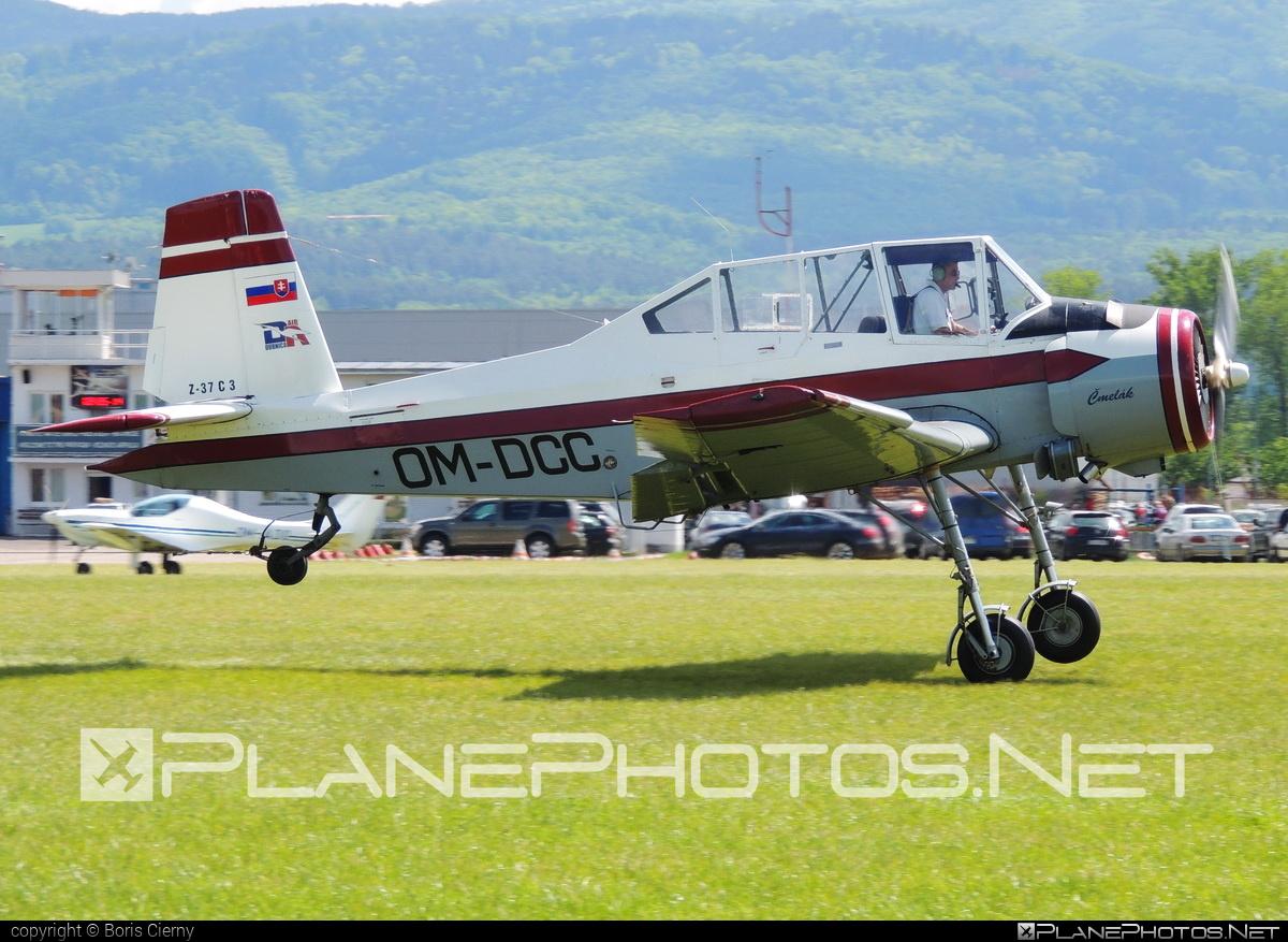 Zlin Z-37A C3 Čmelák - OM-DCC operated by Dubnica Air #cmelak #z37 #z37ac3 #zlin #zlin37 #zlin37cmelak