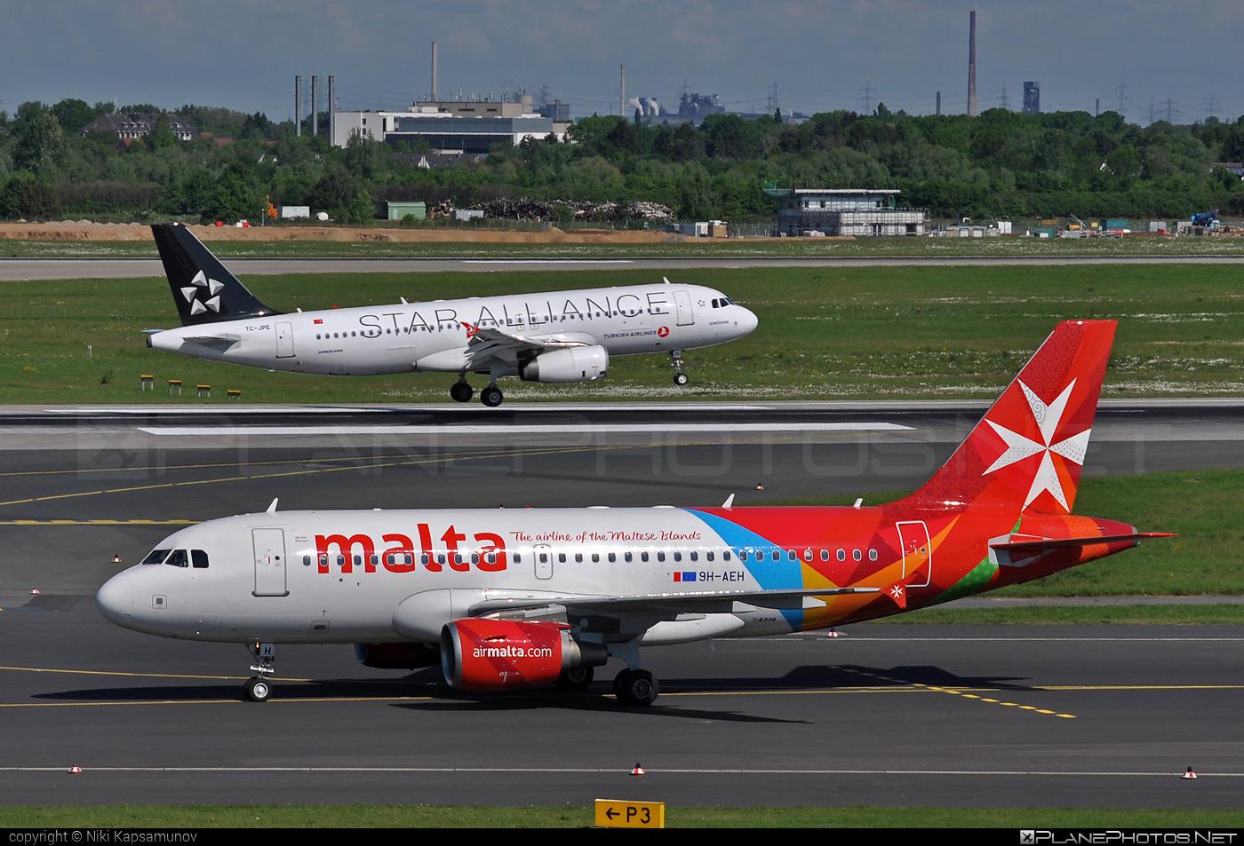 Airbus A319-111 - 9H-AEH operated by Air Malta #a319 #a320family #airbus #airbus319 #airmalta