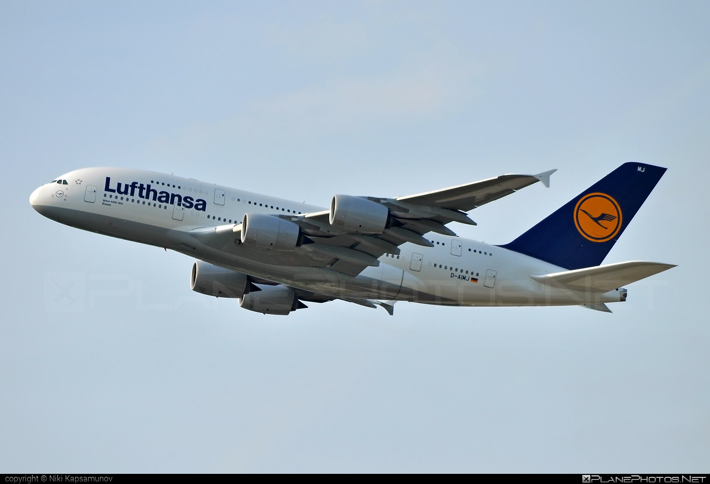Airbus A380-841 - D-AIMJ operated by Lufthansa #a380 #a380family #airbus #airbus380 #lufthansa