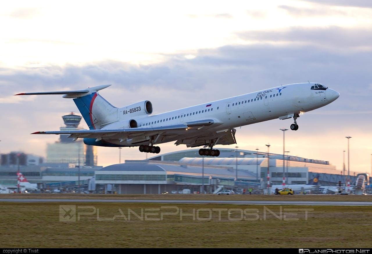 Tupolev Tu-154M - RA-85833 operated by Ak Bars Aero #tu154 #tu154m #tupolev