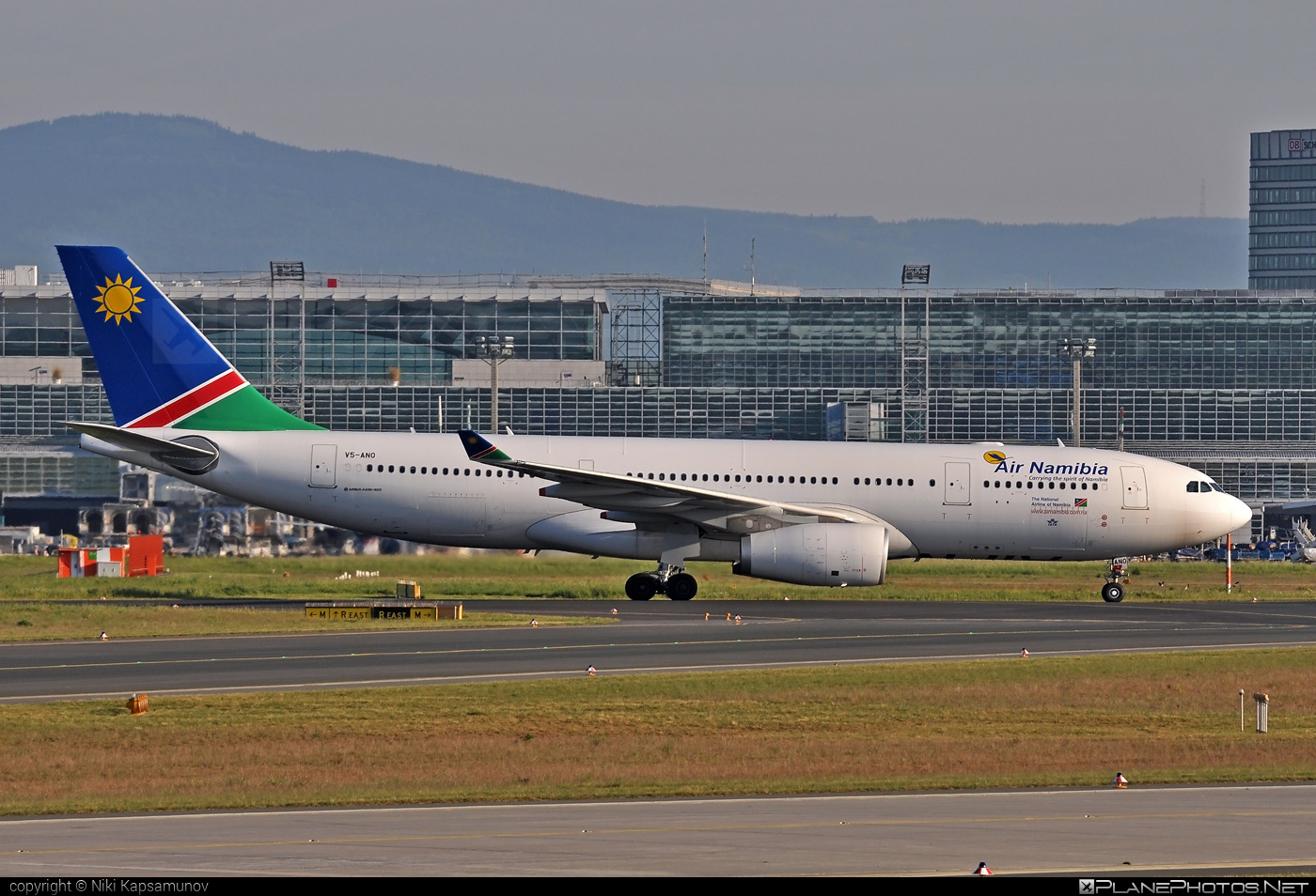 Airbus A330-243 - V5-ANO operated by Air Namibia #a330 #a330family #airbus #airbus330 #airnamibia
