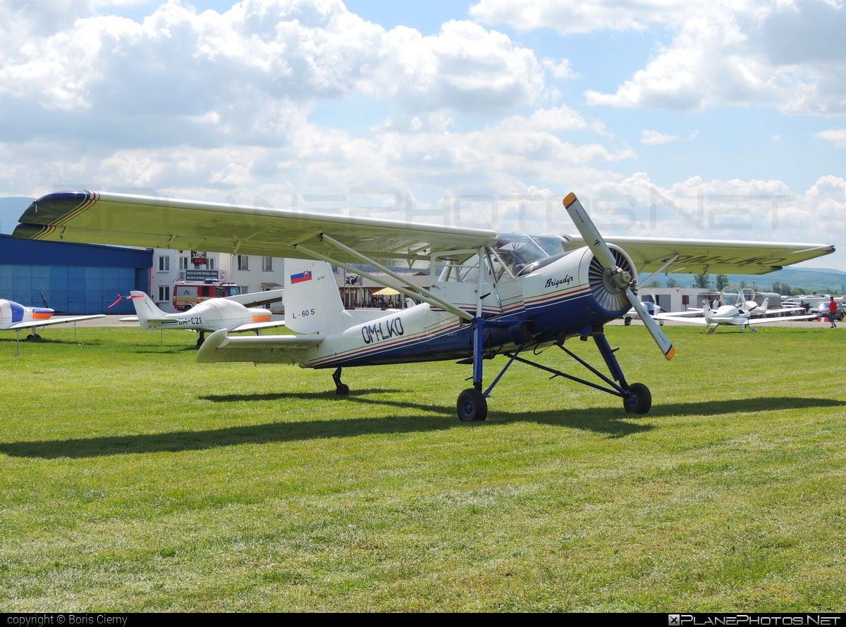Aero L-60S Brigadýr - OM-LKO operated by Aeroklub Dubnica nad Váhom #aero