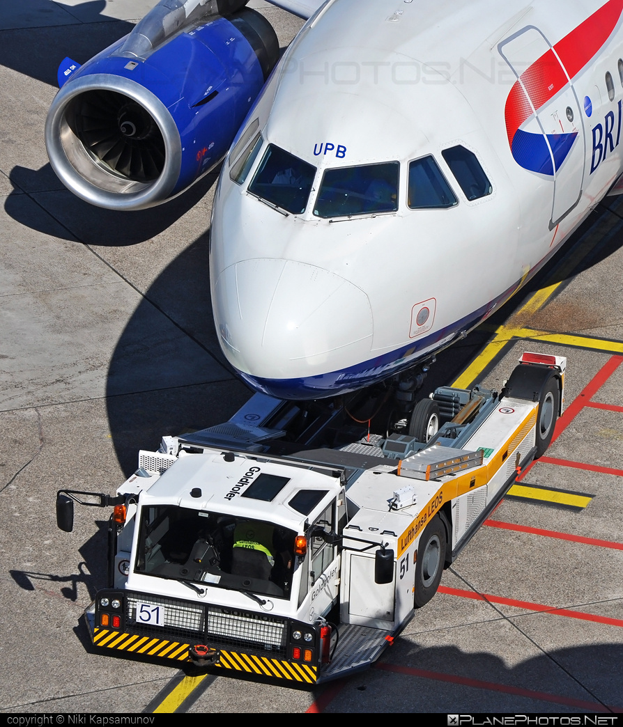 Airbus A319-131 - G-EUPB operated by British Airways #a319 #a320family #airbus #airbus319 #britishairways