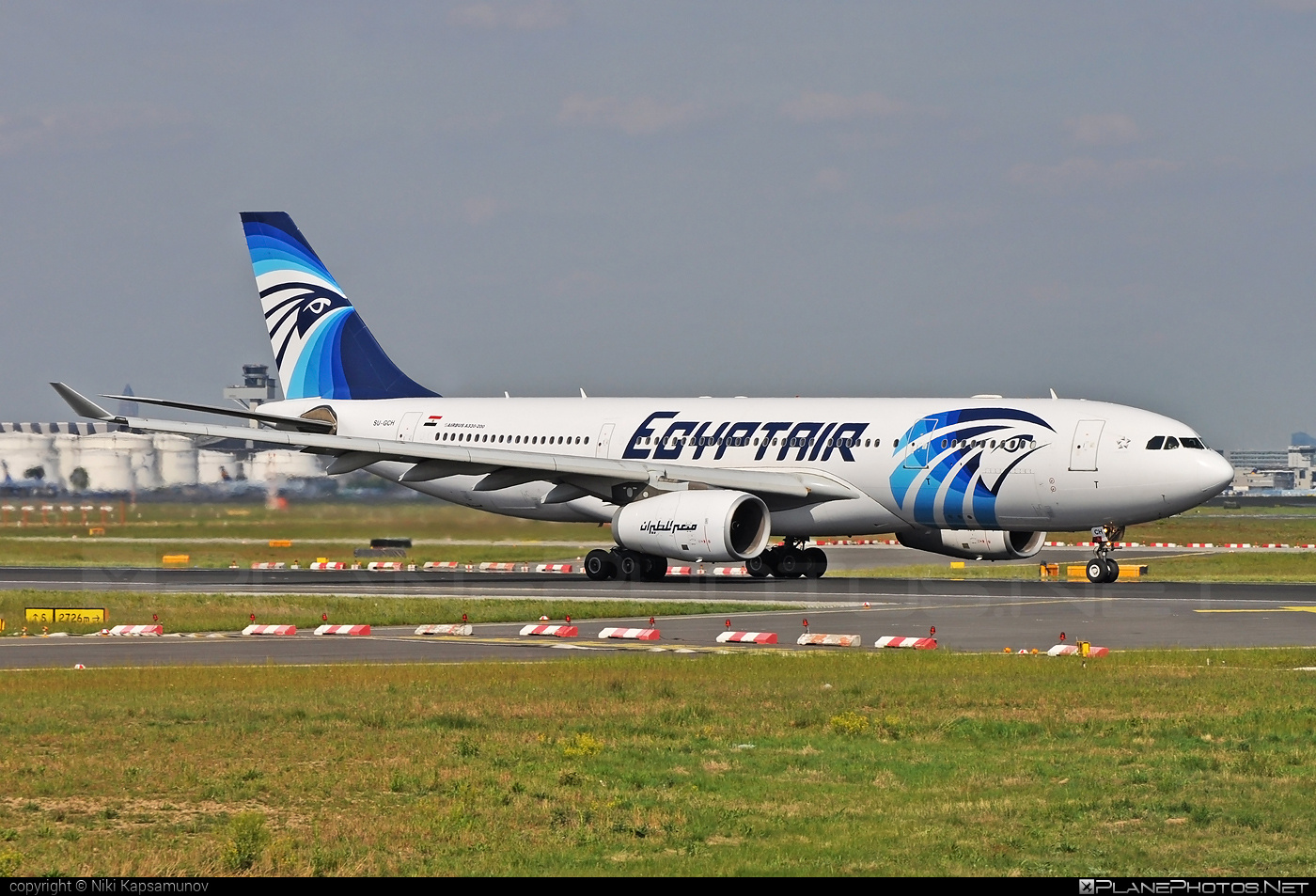 Airbus A330-243 - SU-GCH operated by EgyptAir #a330 #a330family #airbus #airbus330