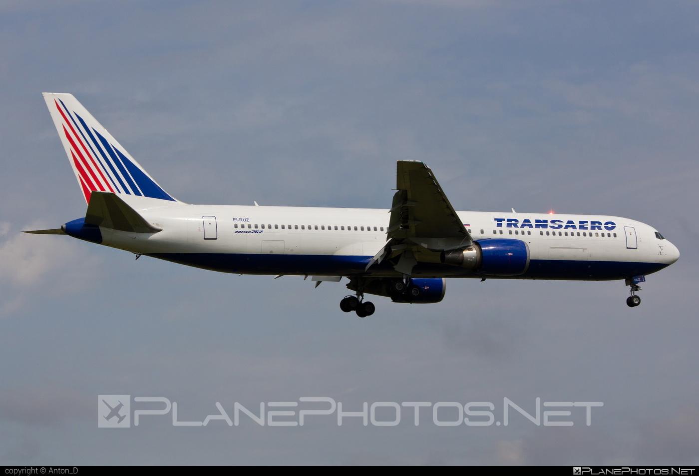 Boeing 767-300ER - EI-RUZ operated by Transaero Airlines #b767 #b767er #boeing #boeing767