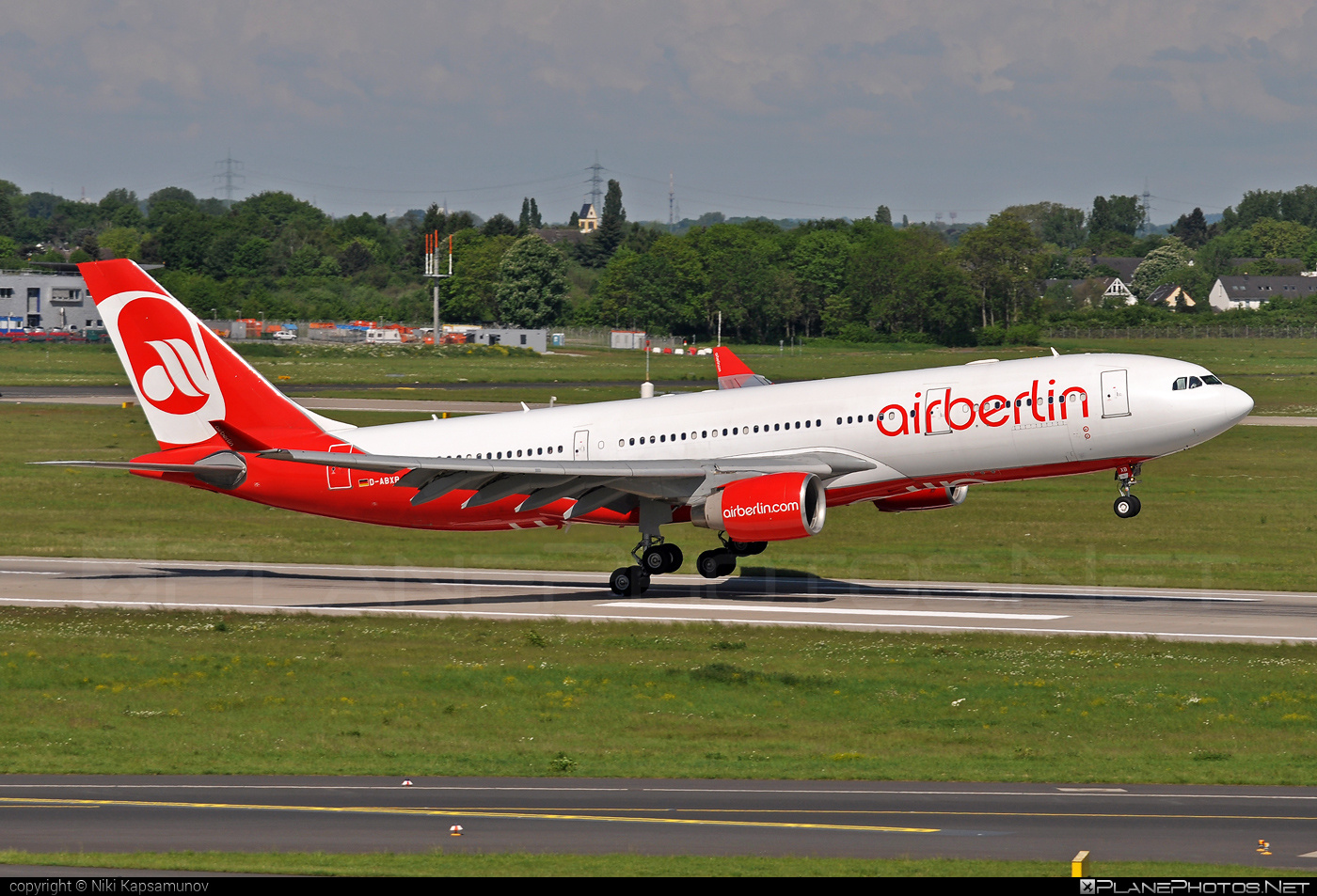 Airbus A330-223 - D-ABXB operated by Air Berlin #a330 #a330family #airberlin #airbus #airbus330