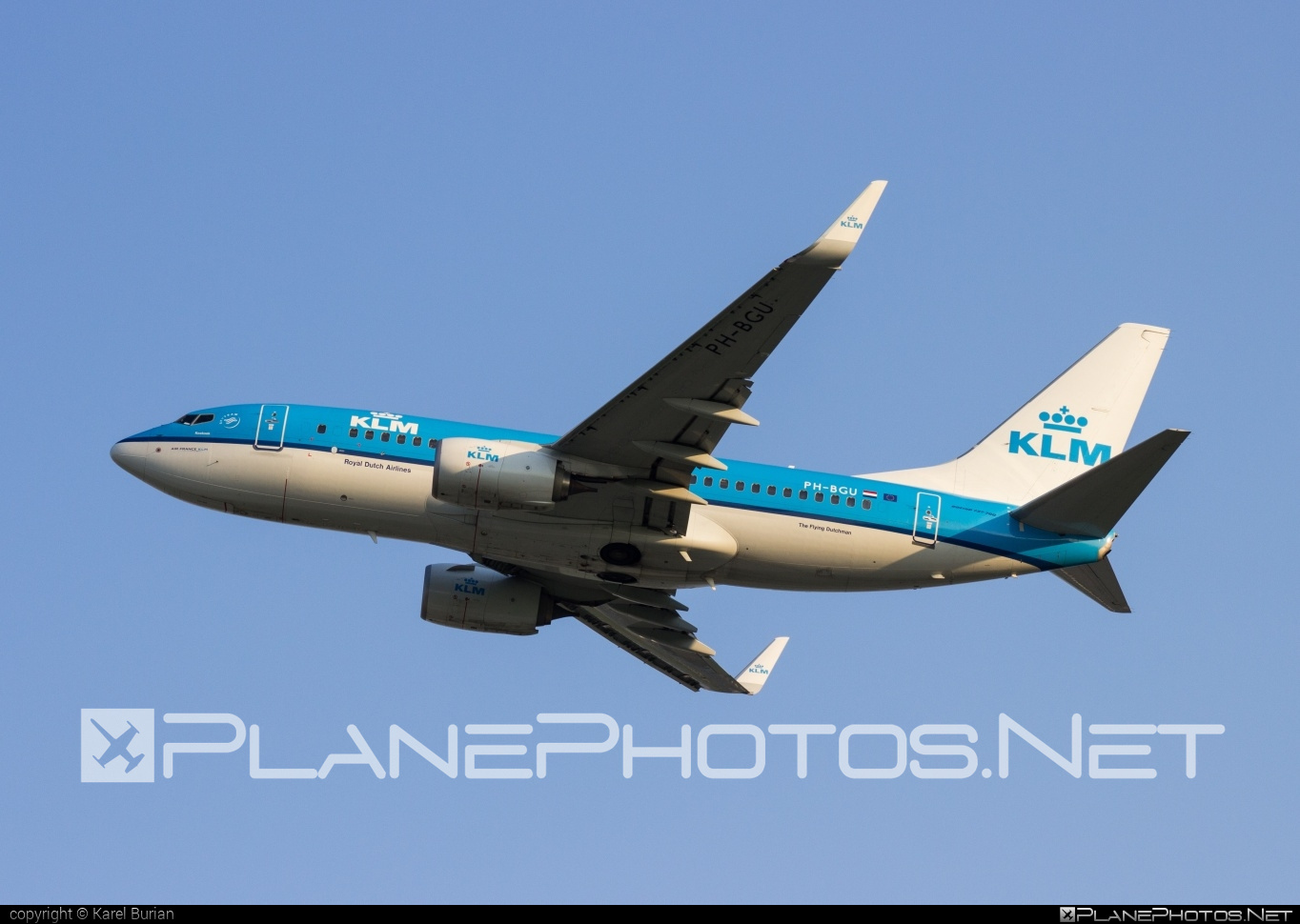 Boeing 737-700 - PH-BGU operated by KLM Royal Dutch Airlines #b737 #b737nextgen #b737ng #boeing #boeing737 #klm #klmroyaldutchairlines #royaldutchairlines