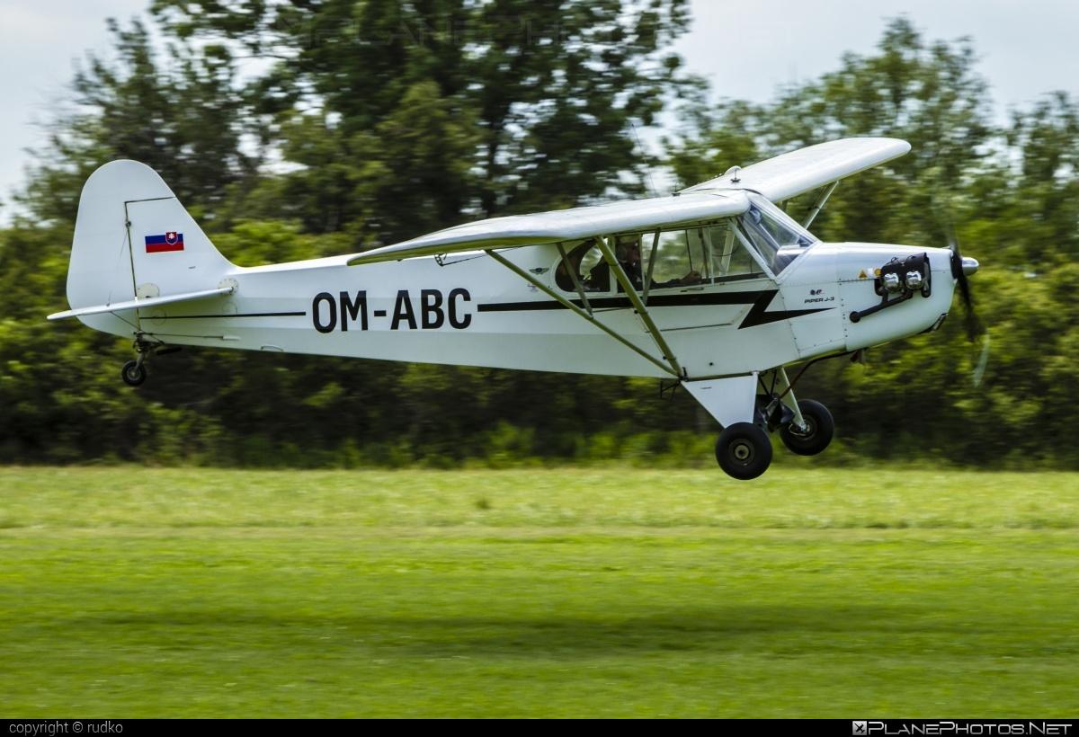 Piper J3C-65 Cub - OM-ABC operated by Private operator #piper
